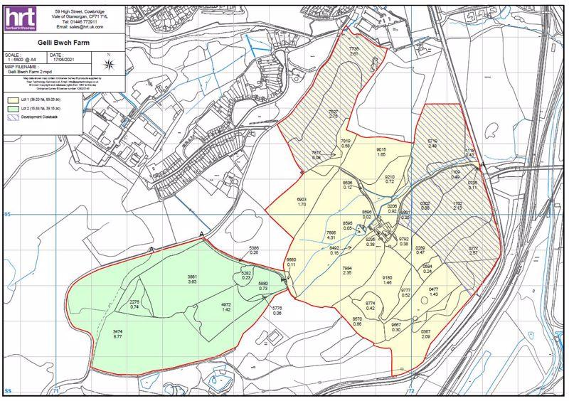Lot 2 - 39.15 acres of pasture land at Gelli Bwch Farm, Llandarcy, Skewen, Neath SA10 6JU