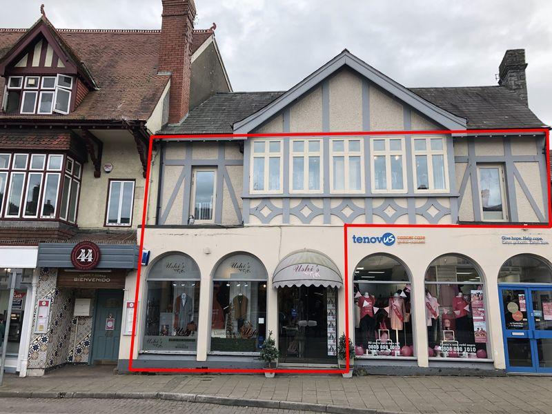 Prime Ground & First Floor Retail Unit, 44 High Street, Cowbridge, Vale of Glamorgan, CF71 7AG