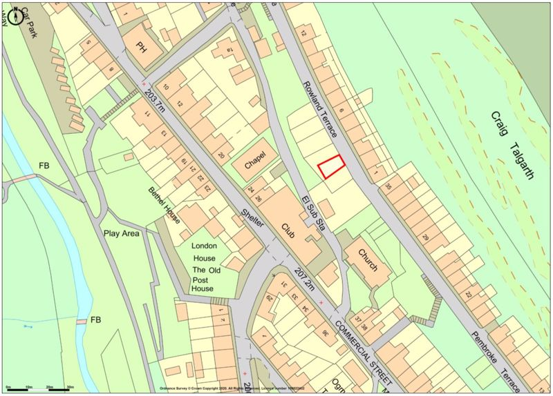 Land at Rowland Terrace, Nantymoel, Bridgend, CF32 7PA