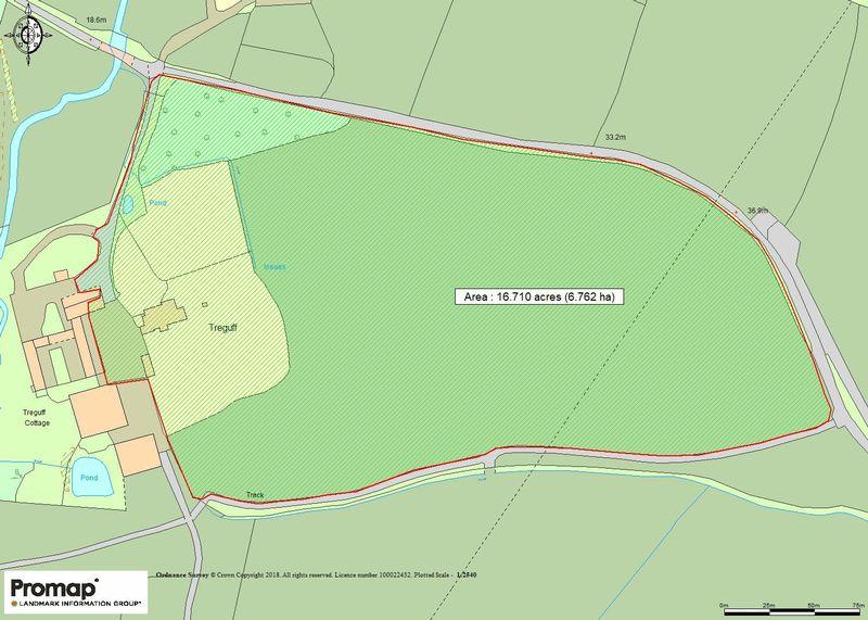 Treguff Place with Land, Llantrithyd, Nr. Cowbridge, CF71 7LT