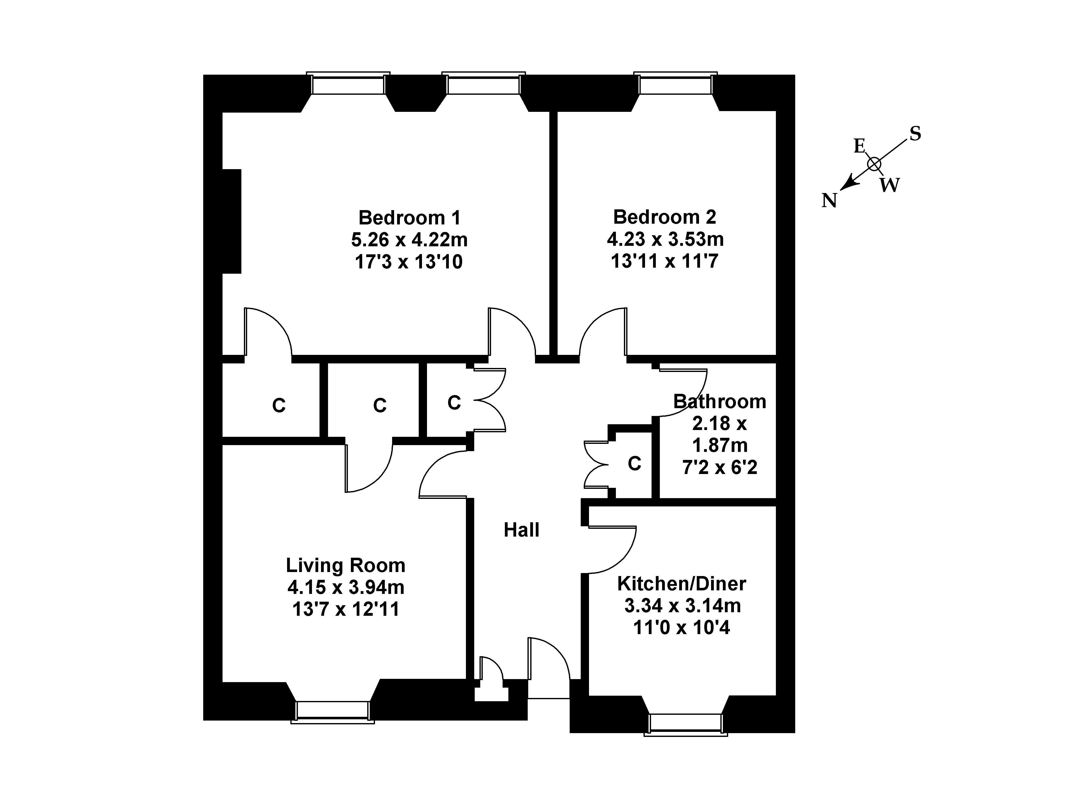 Floorplan 1 of 16 Eskside West, Musselburgh, East Lothian EH21 6PL