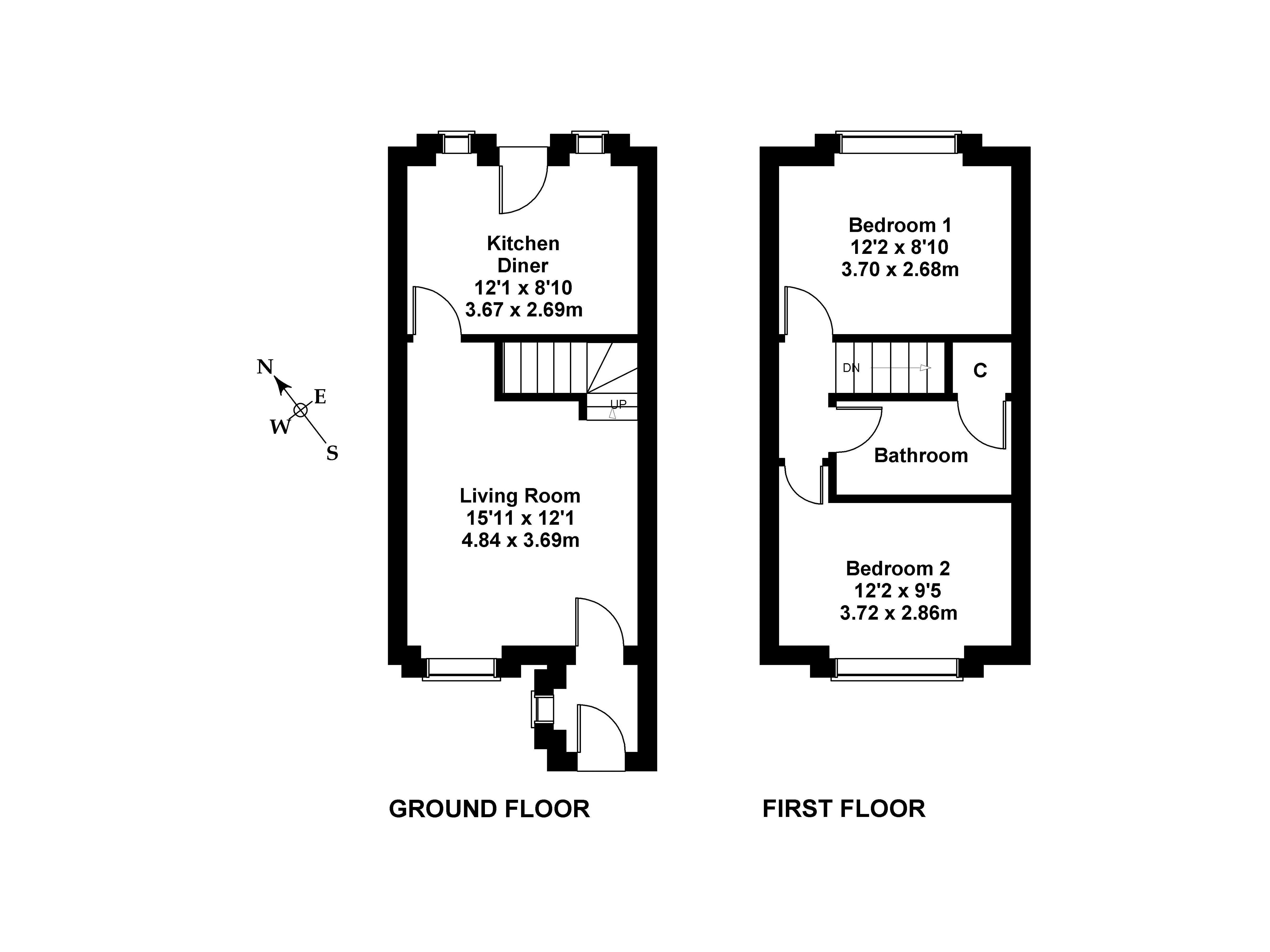 Floorplan 1 of 9 Double Hedges Park, Liberton, Edinburgh, EH16 6YL
