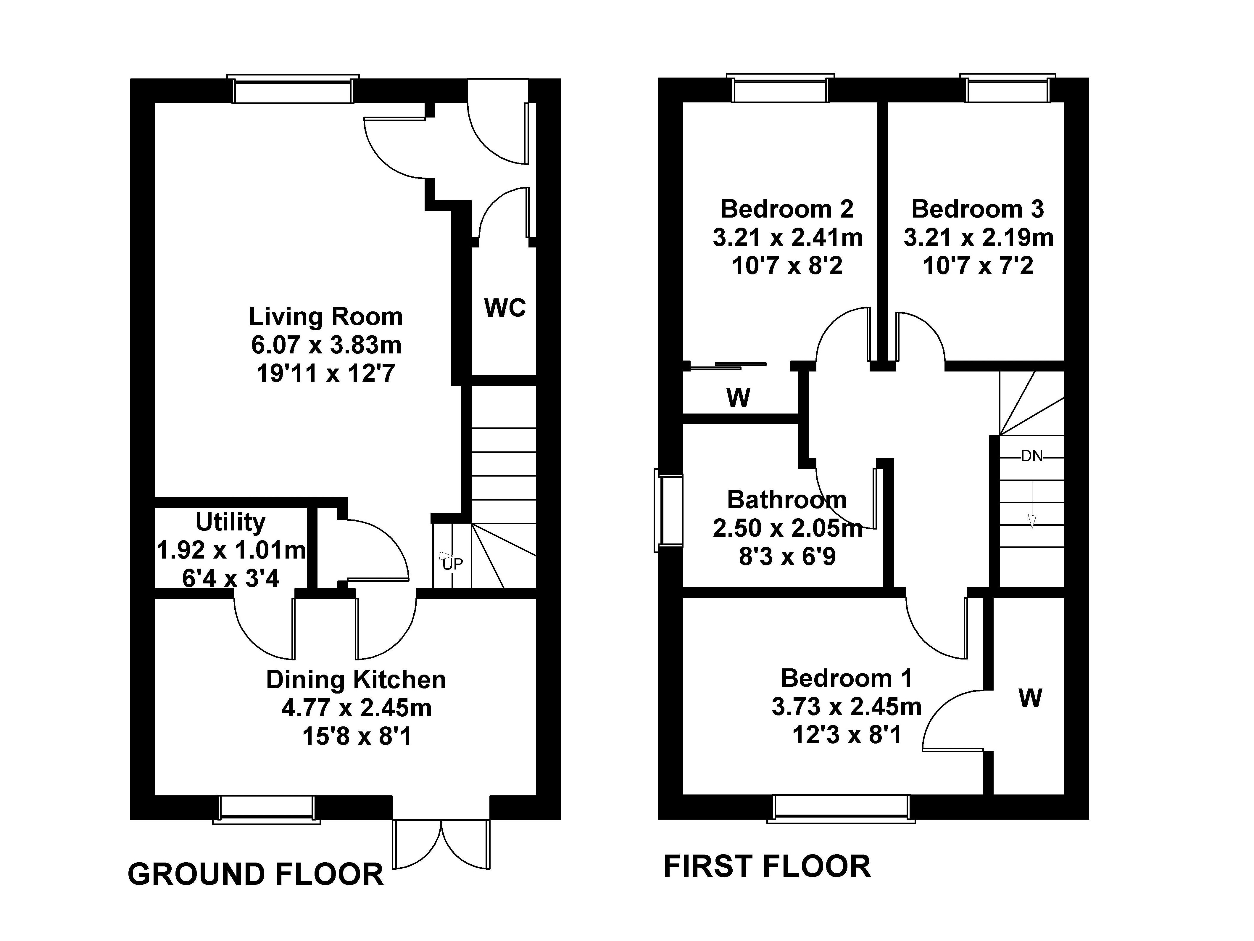 Floorplan 1 of 15 Whitehouse Road, Gorebridge, Midlothian, EH23 4FF