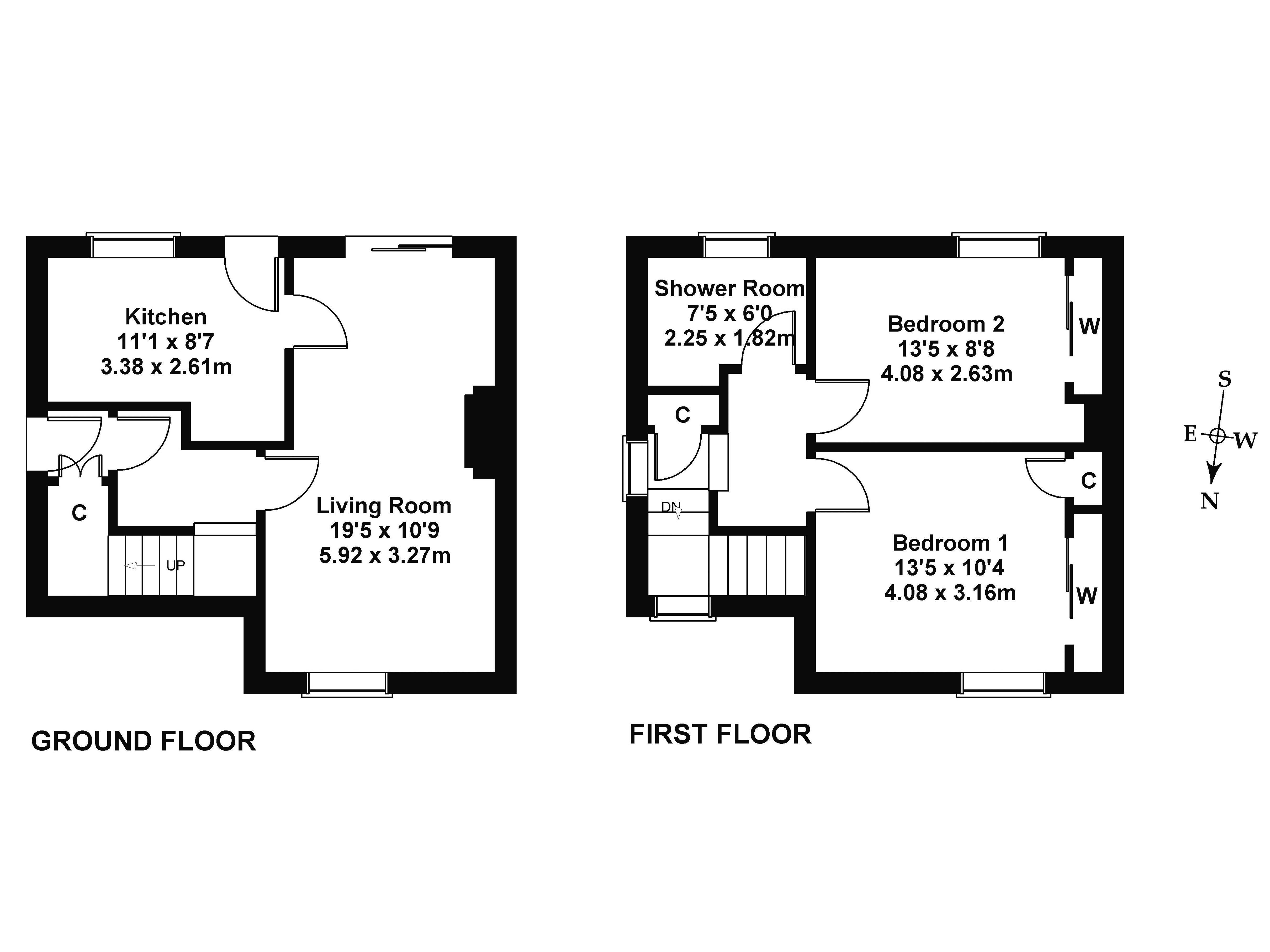 Floorplan 1 of 99 Drum Brae Terrace, Drum Brae, Edinburgh, EH4 7SG