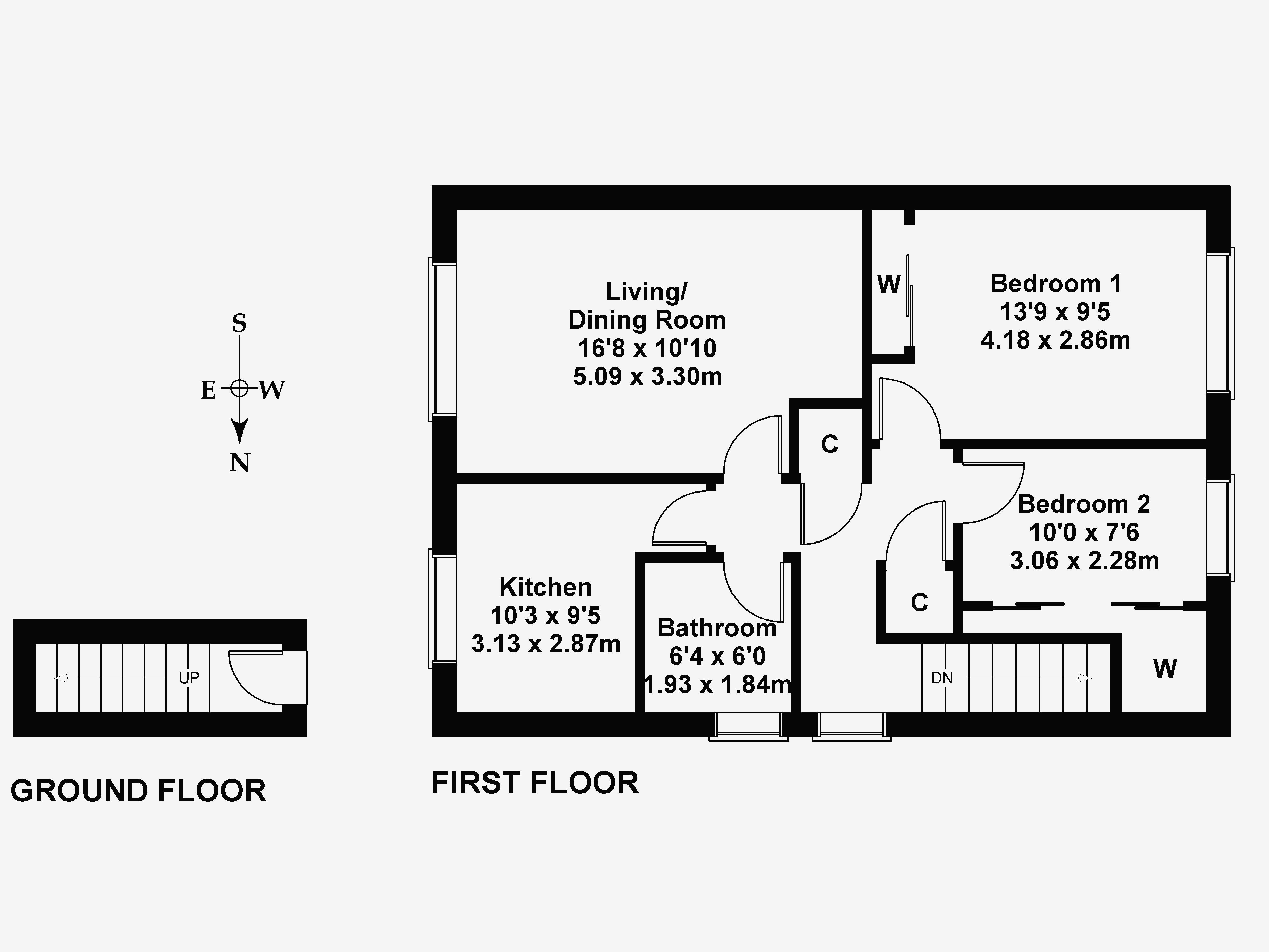 Floorplan 1 of 25 Parkgrove Avenue, Barnton, Edinburgh, EH4 7QR