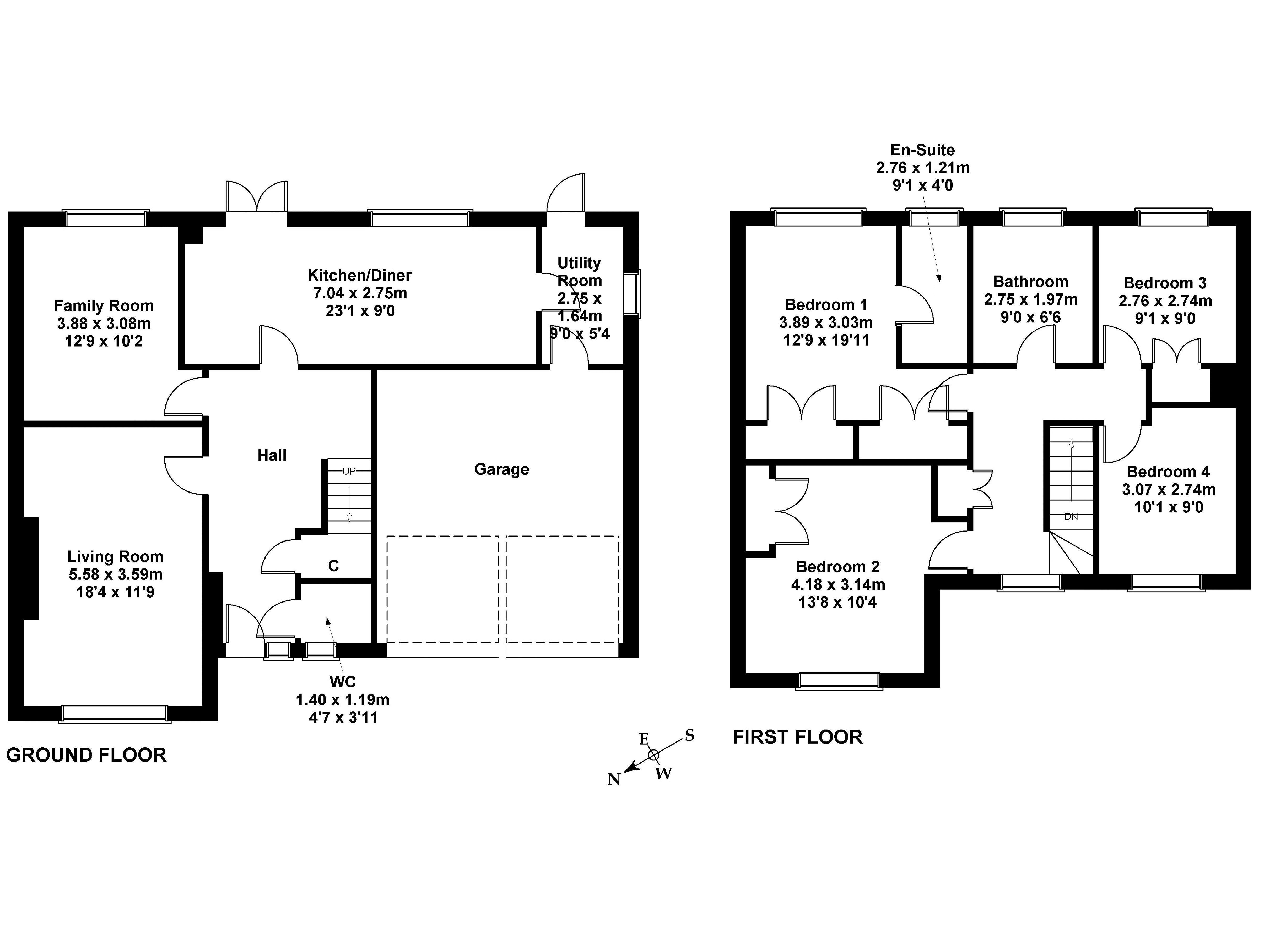 Floorplan 1 of 52 Murieston Valley, Murieston, Livingstone EH54 9HB