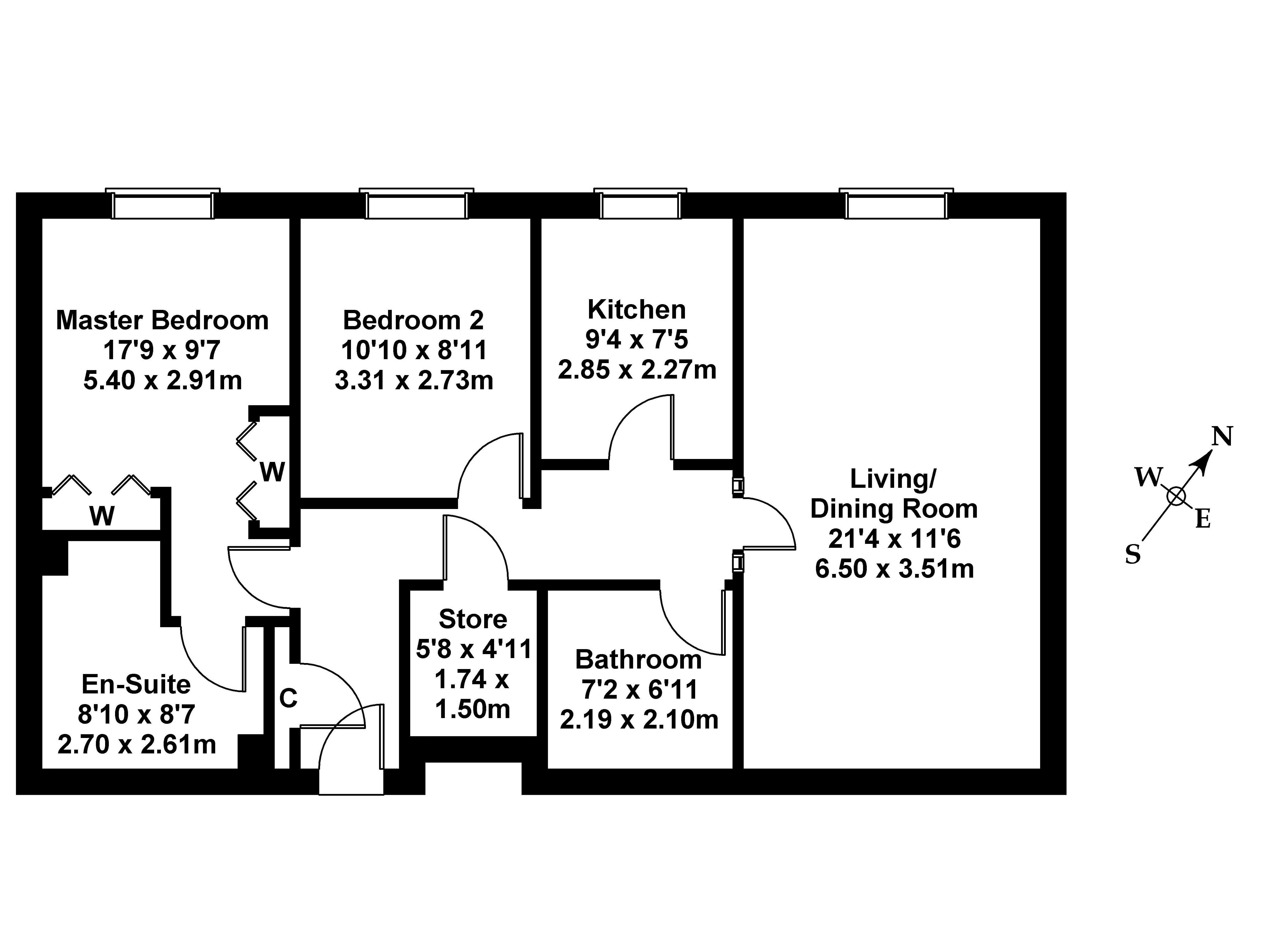 Floorplan 1 of 39/33 Pilrig Heights, Pilrig, Edinburgh, EH6 5FD