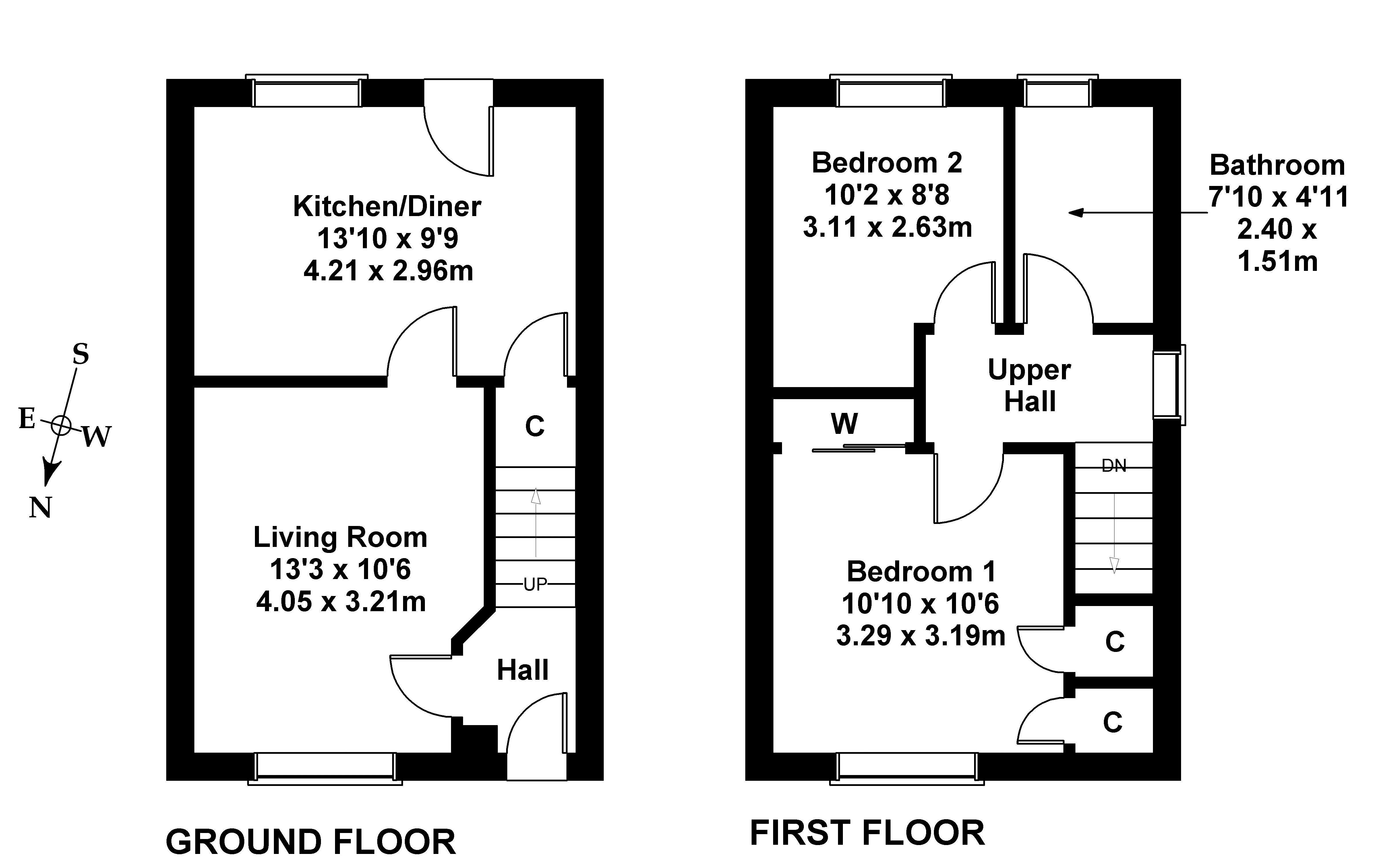 Floorplan 1 of 93 Gogarloch Haugh, South Gyle, Edinburgh EH12 9JG