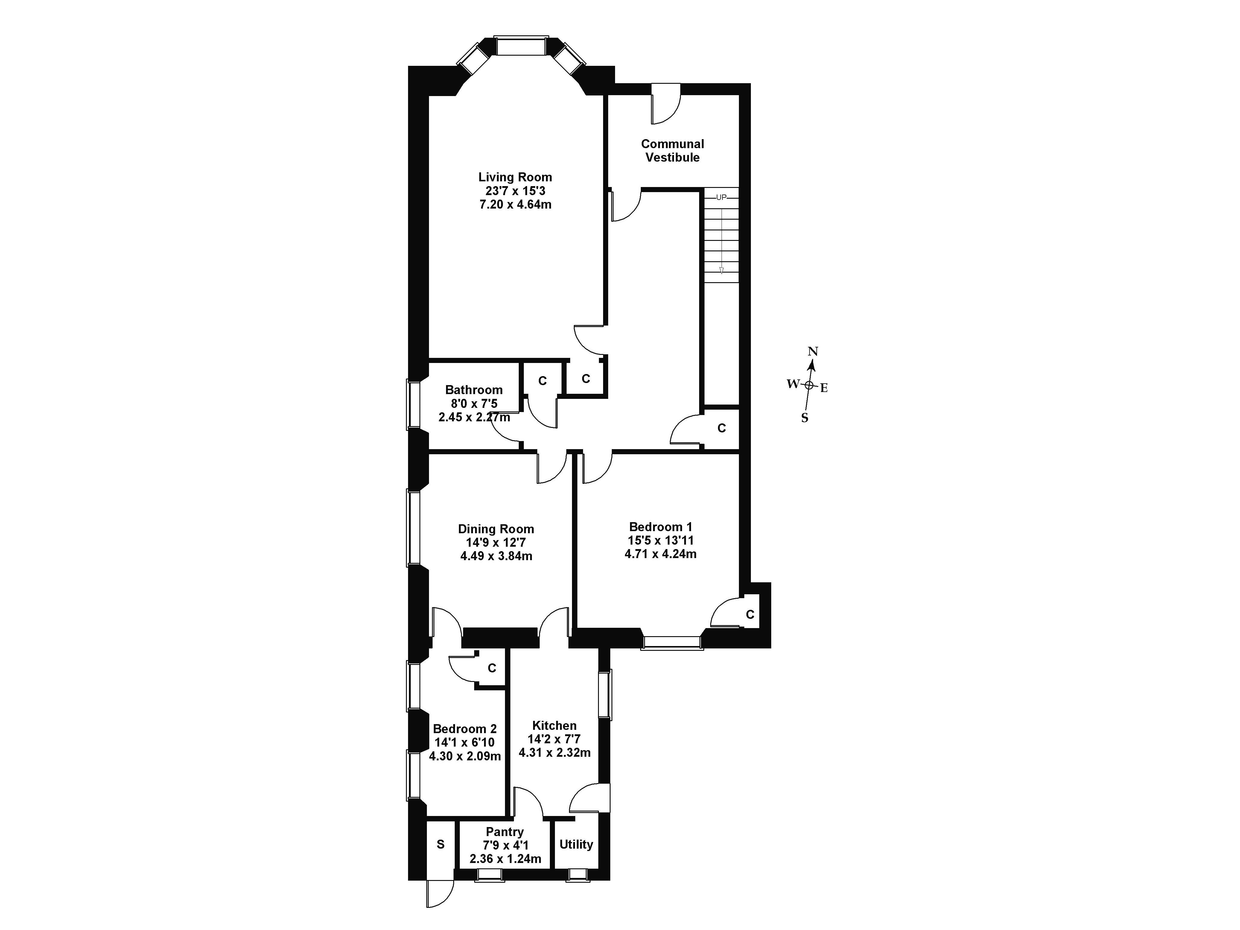 Floorplan 1 of 2 Priestfield Road, Newington, Edinburgh, EH16 5HH