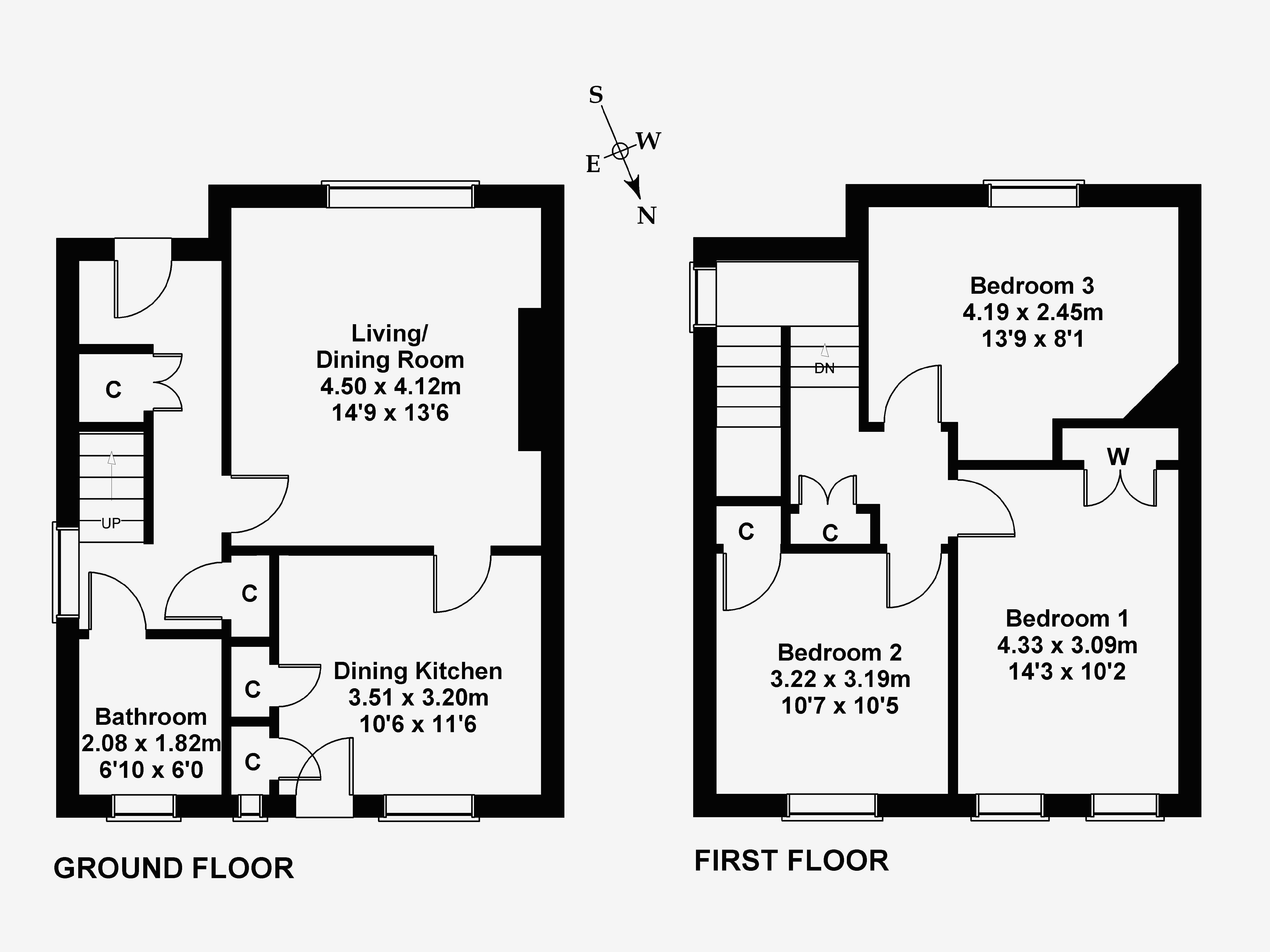 Floorplan 1 of 7 Princess Mary Road, Haddington, East Lothian, EH41 3LE