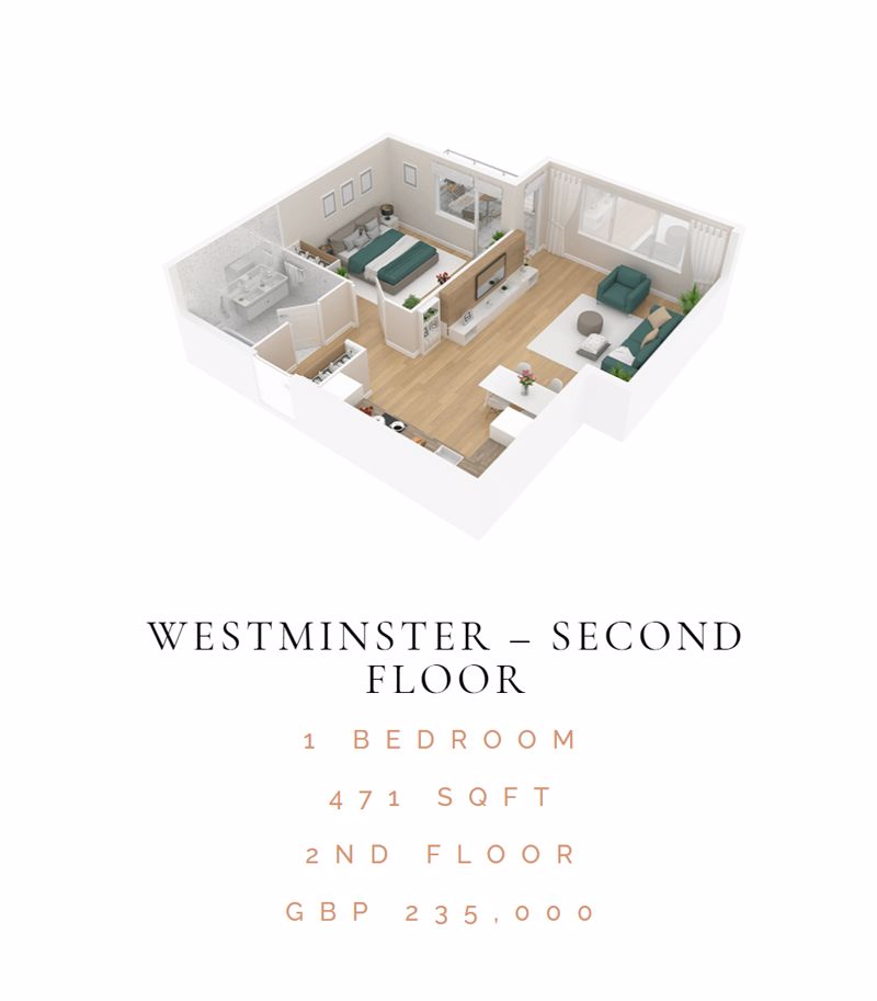 1 bedroom  to buy in 46 London Road, Luton - Photo 9