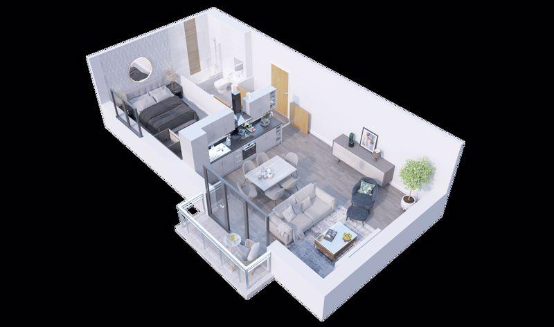 1 bedroom  to buy in Stockwood Gardens, Newlands Road,, Luton - Photo 1