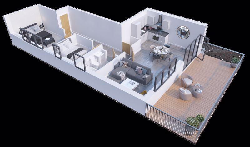 2 bedroom Apartment / Studio to buy in Stockwood Gardens, Newlands Road, Luton - Photo 6
