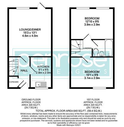 2 bedroom Mid Terrace to buy in Cemetery Road, Dunstable