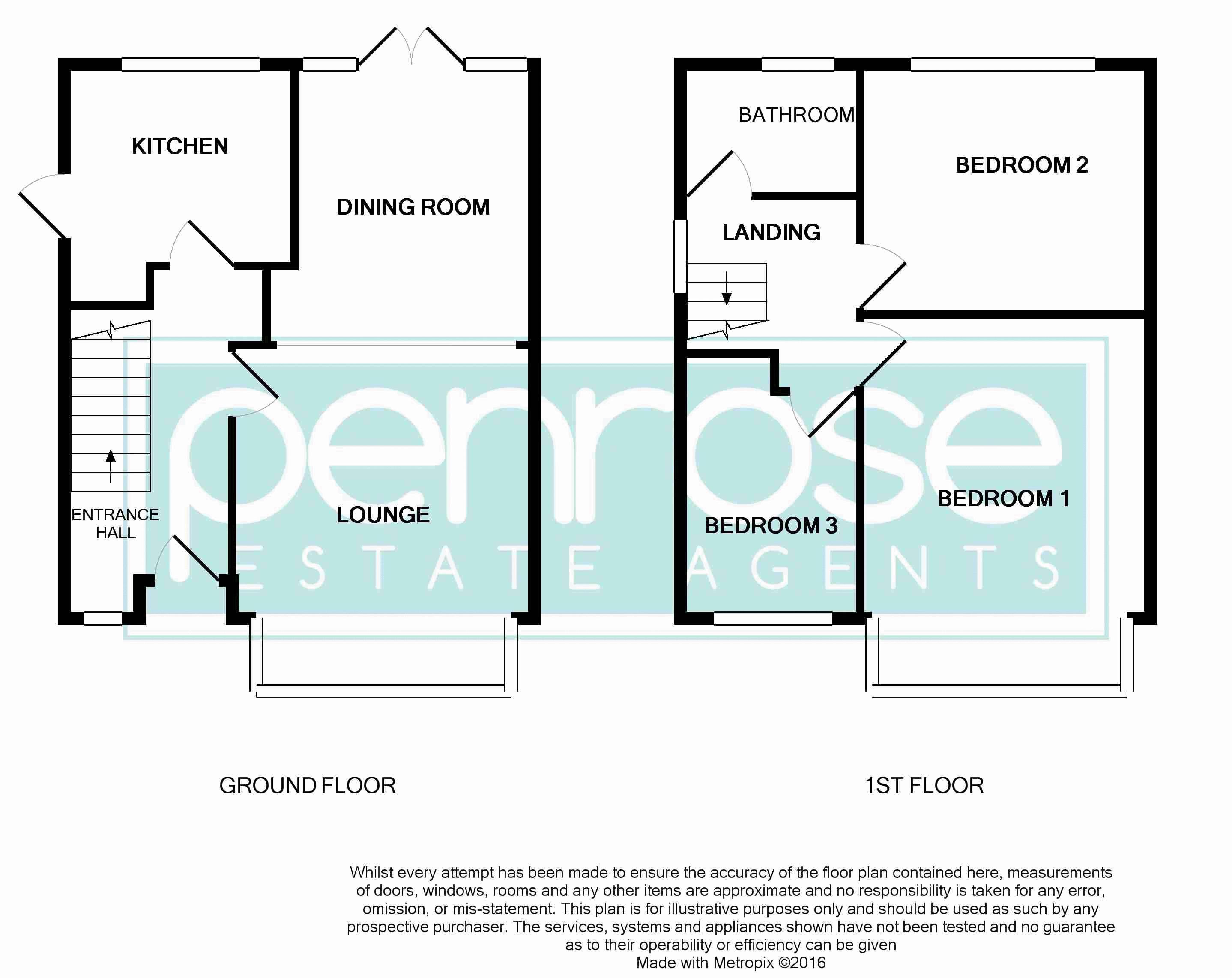 3 bedroom End Terrace to buy in Winch Street, Luton Floorplan
