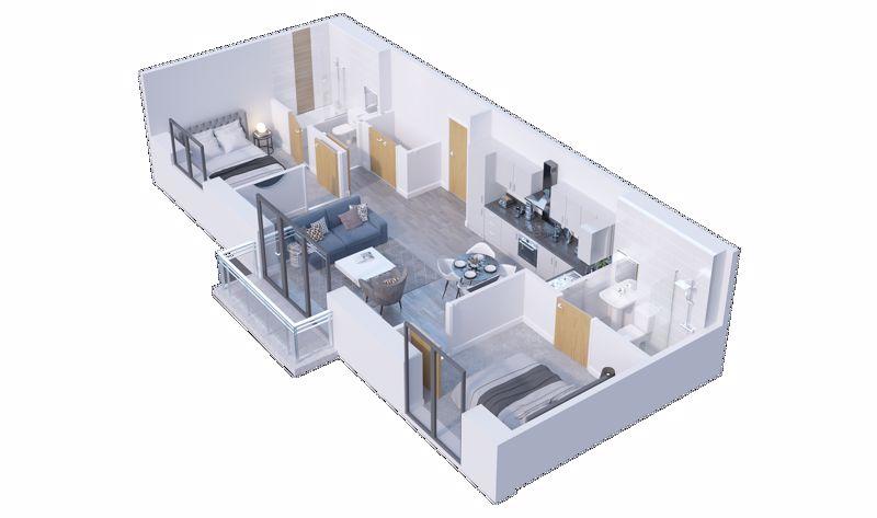 2 bedroom  to buy in Stockwood Gardens,Newlands Road, Luton - Photo 4