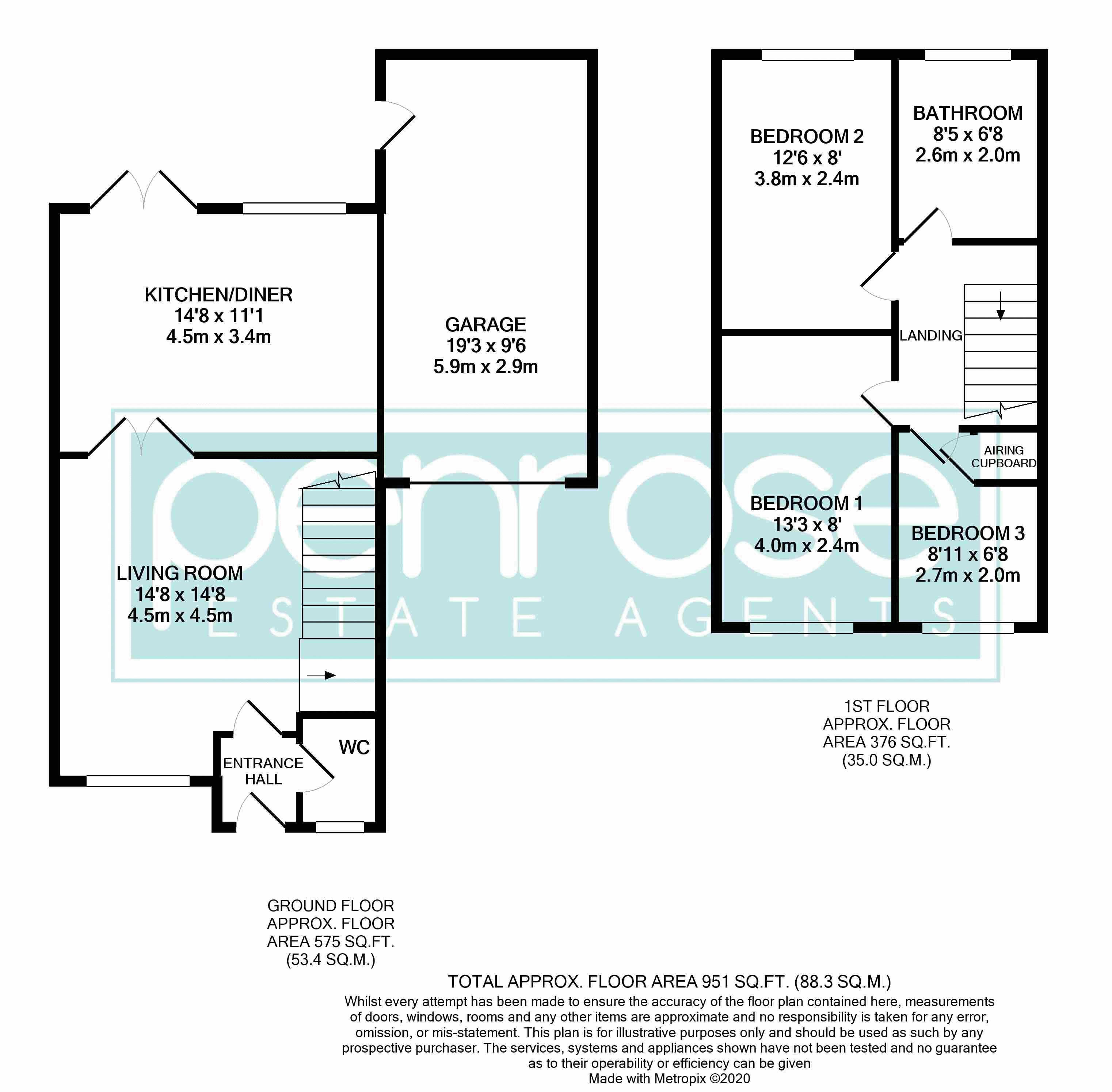 3 bedroom  to buy in Brompton Gardens, Luton