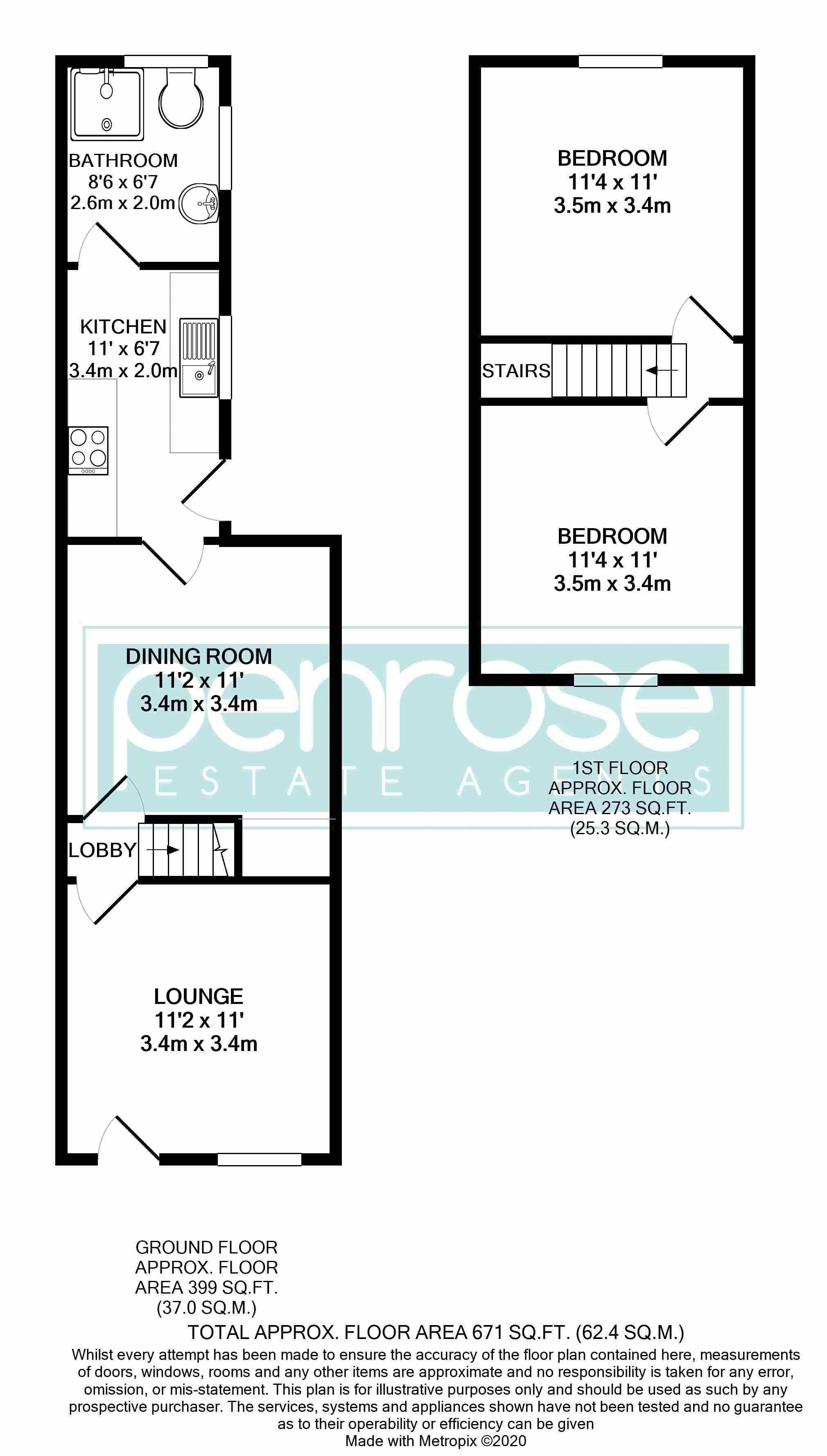 2 bedroom Mid Terrace to buy in Ferndale Road, Luton