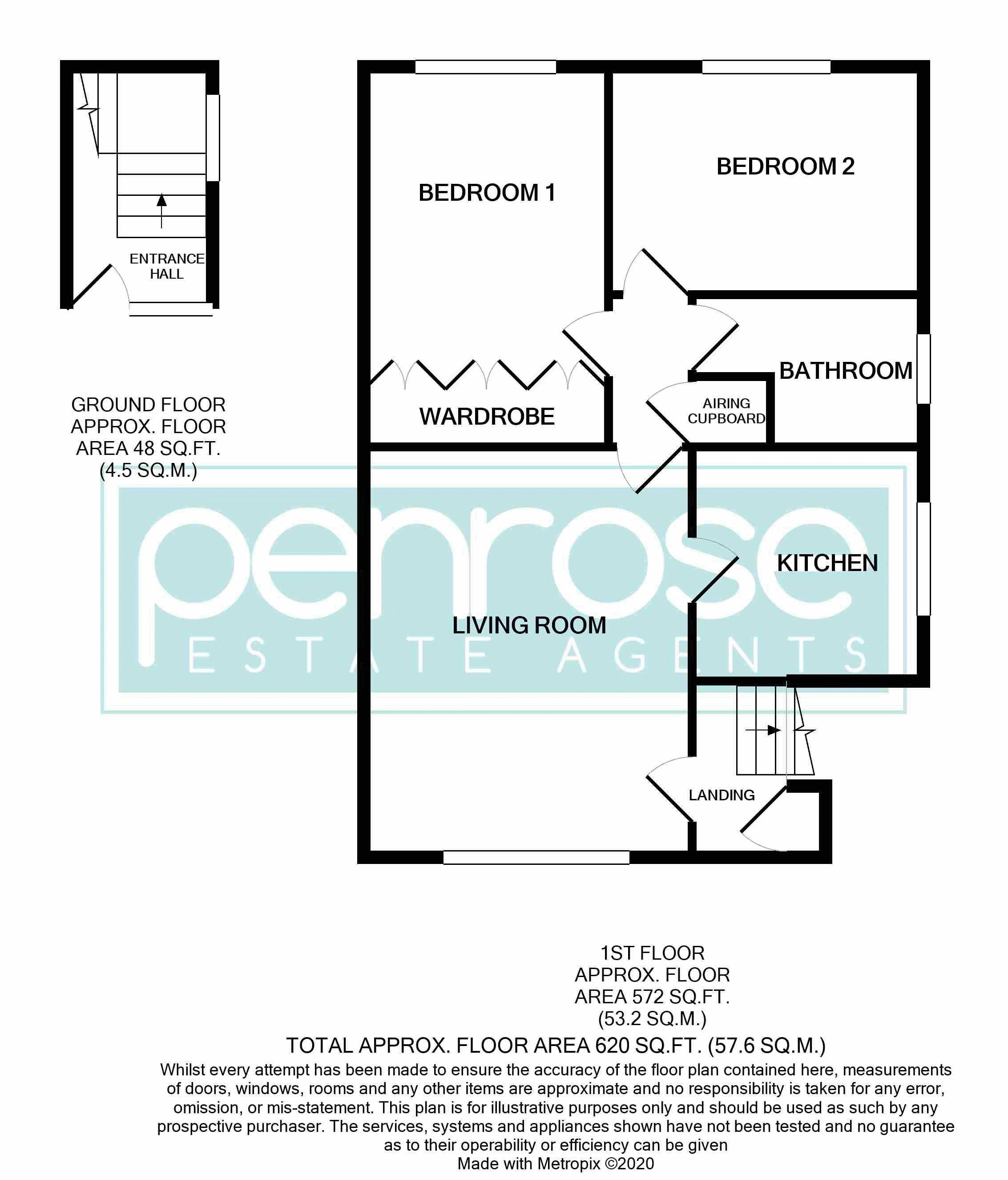 2 bedroom Apartment / Studio to buy in Brendon Avenue, Luton