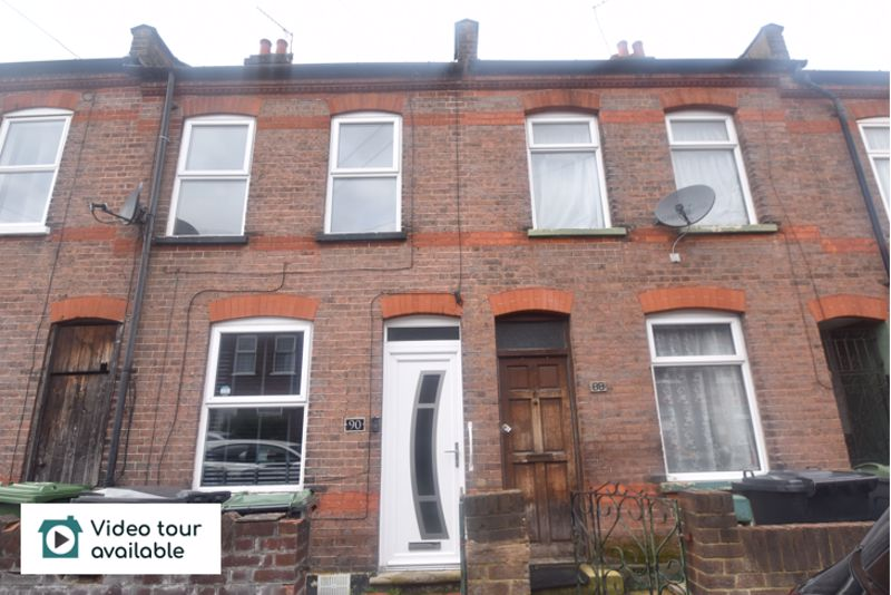 2 bedroom Mid Terrace to rent in Butlin Road, Luton