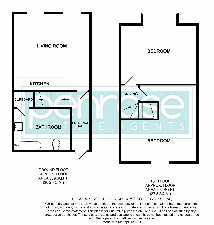 2 bedroom Maisonette to buy in Cardigan Street, Luton