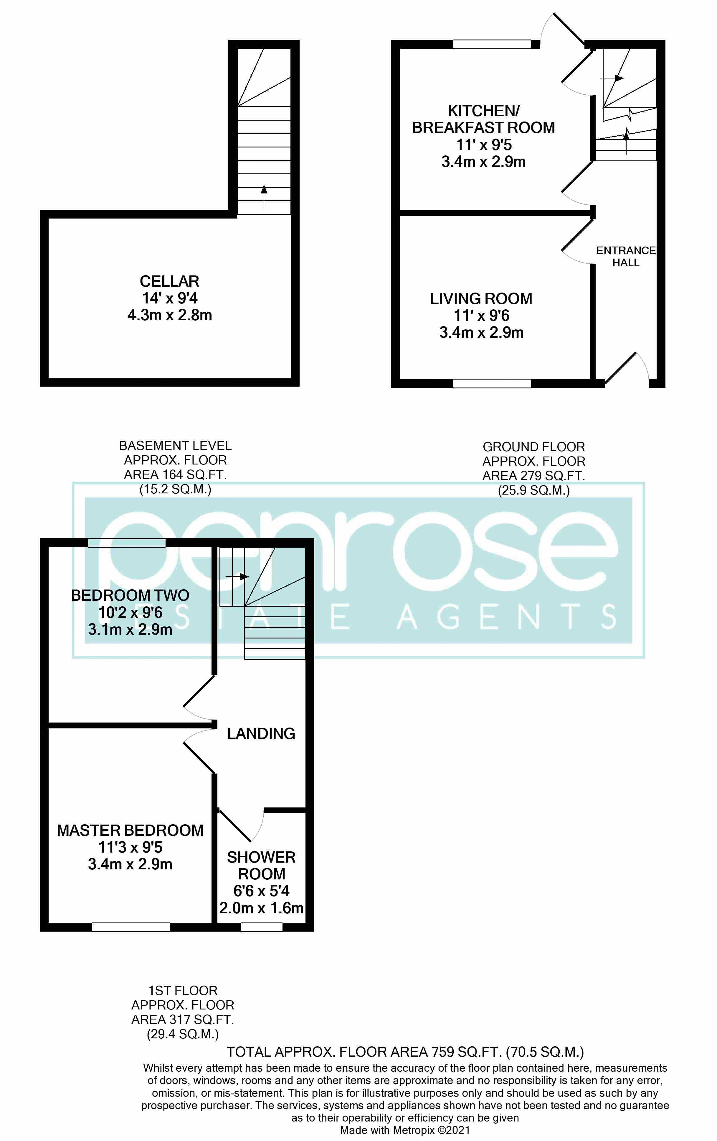 2 bedroom Mid Terrace to buy in Princess Street, Luton