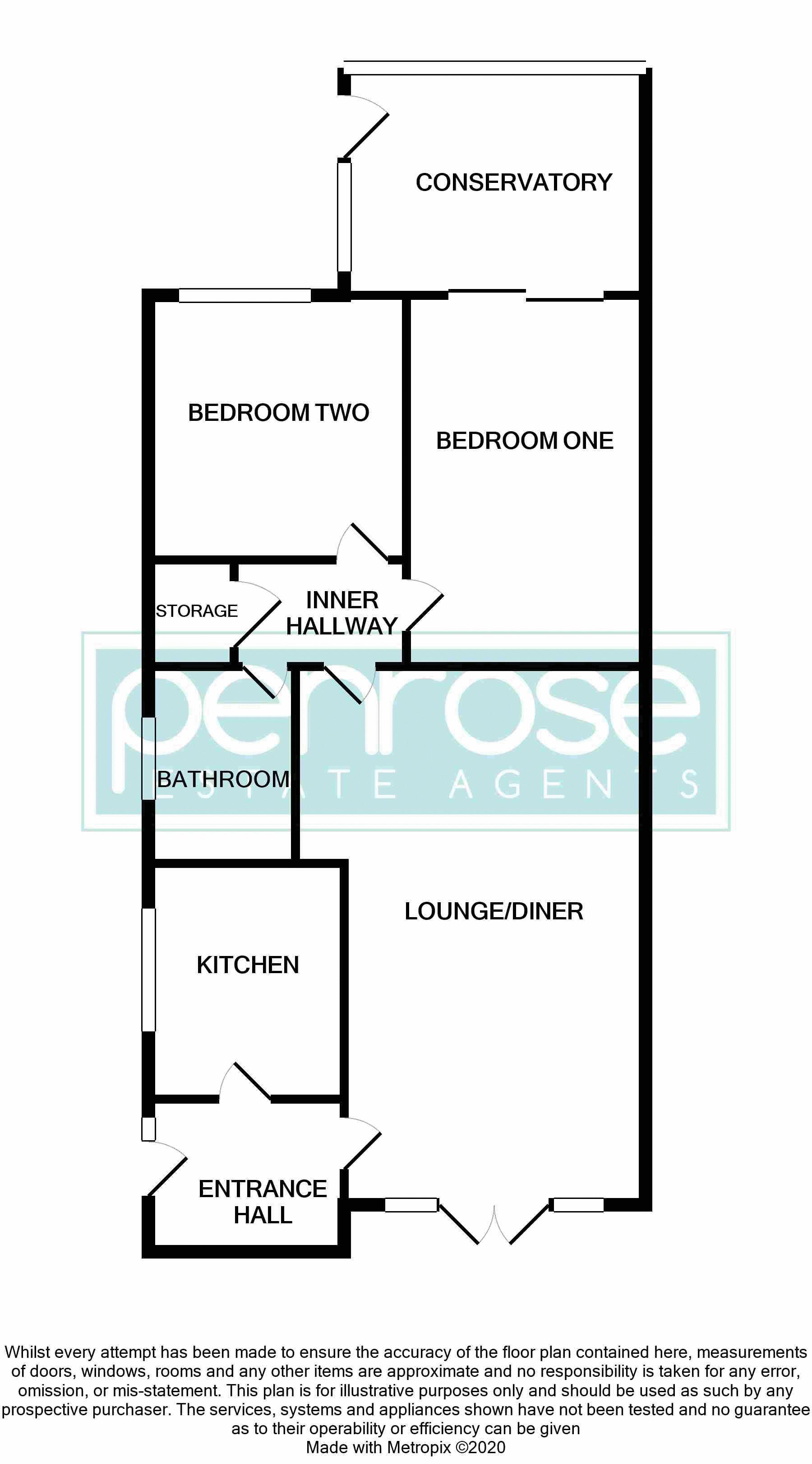 2 bedroom Bungalow to buy in Gayland Avenue, Luton Floorplan