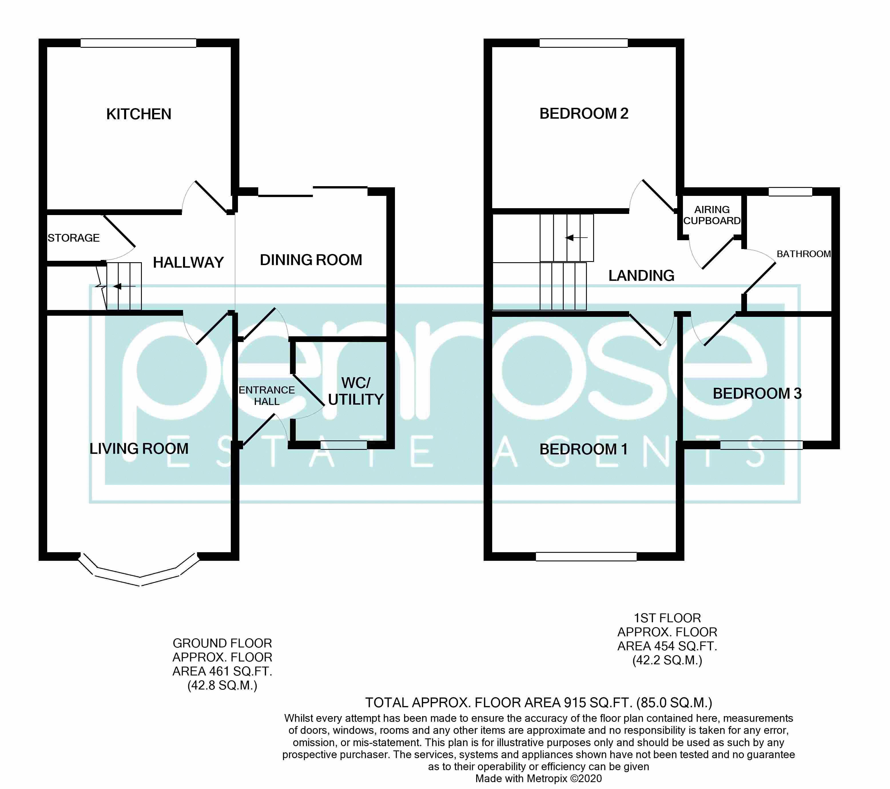 3 bedroom  to buy in Bracklesham Gardens, Luton