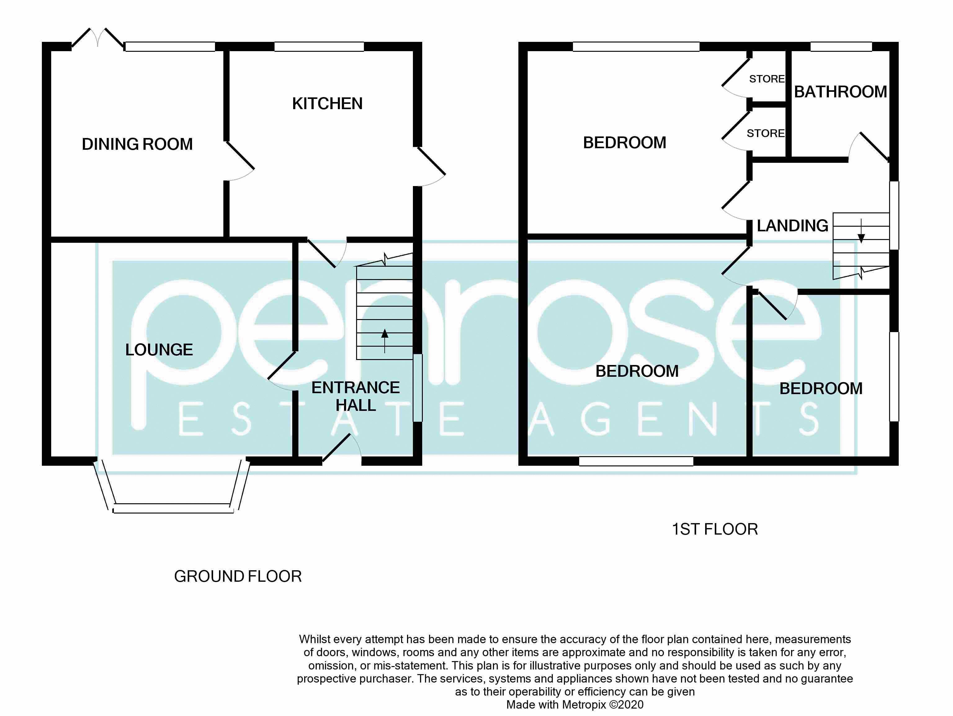 3 bedroom End Terrace to buy in Castlecroft Road, Luton Floorplan