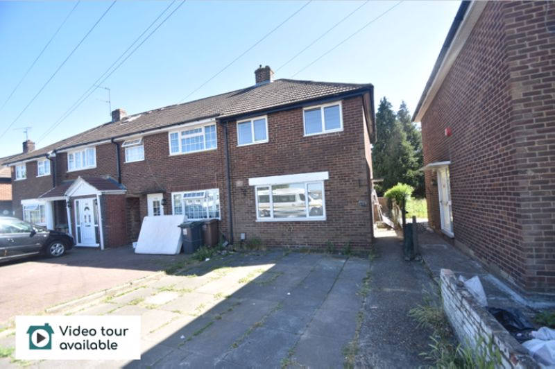 2 bedroom Semi-Detached  to rent in Dallow Road, Luton