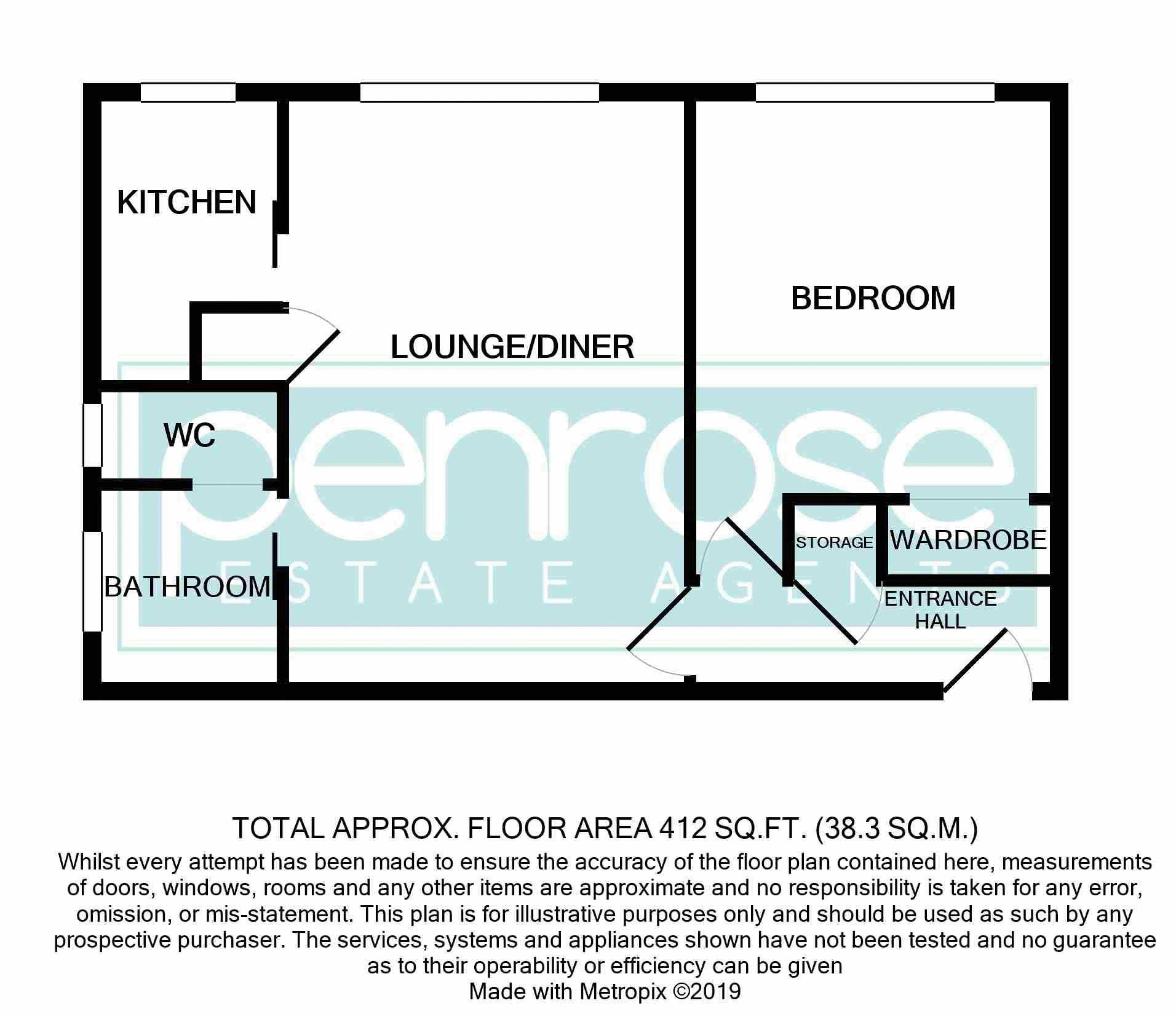 1 bedroom Flat to rent in Crawley Green Road, Luton