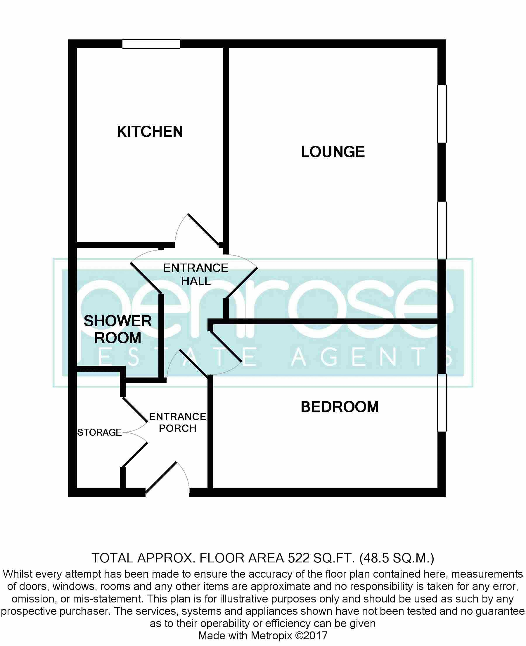 1 bedroom Apartment / Studio to rent in Ryans Court, Ridgeway Road, Luton Ryans Court