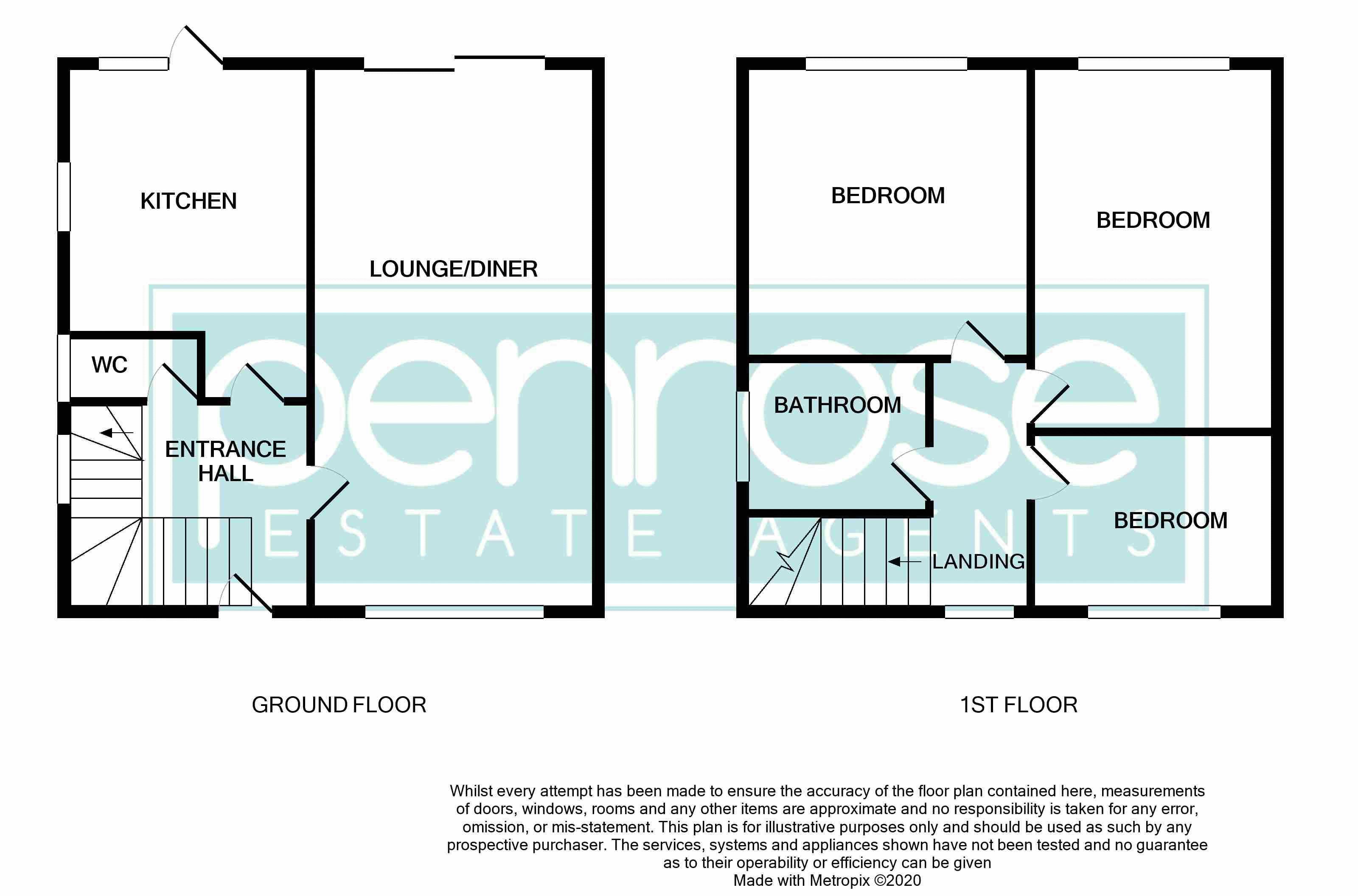 3 bedroom Semi-Detached  to buy in Littlefield Road, Luton Floorplan