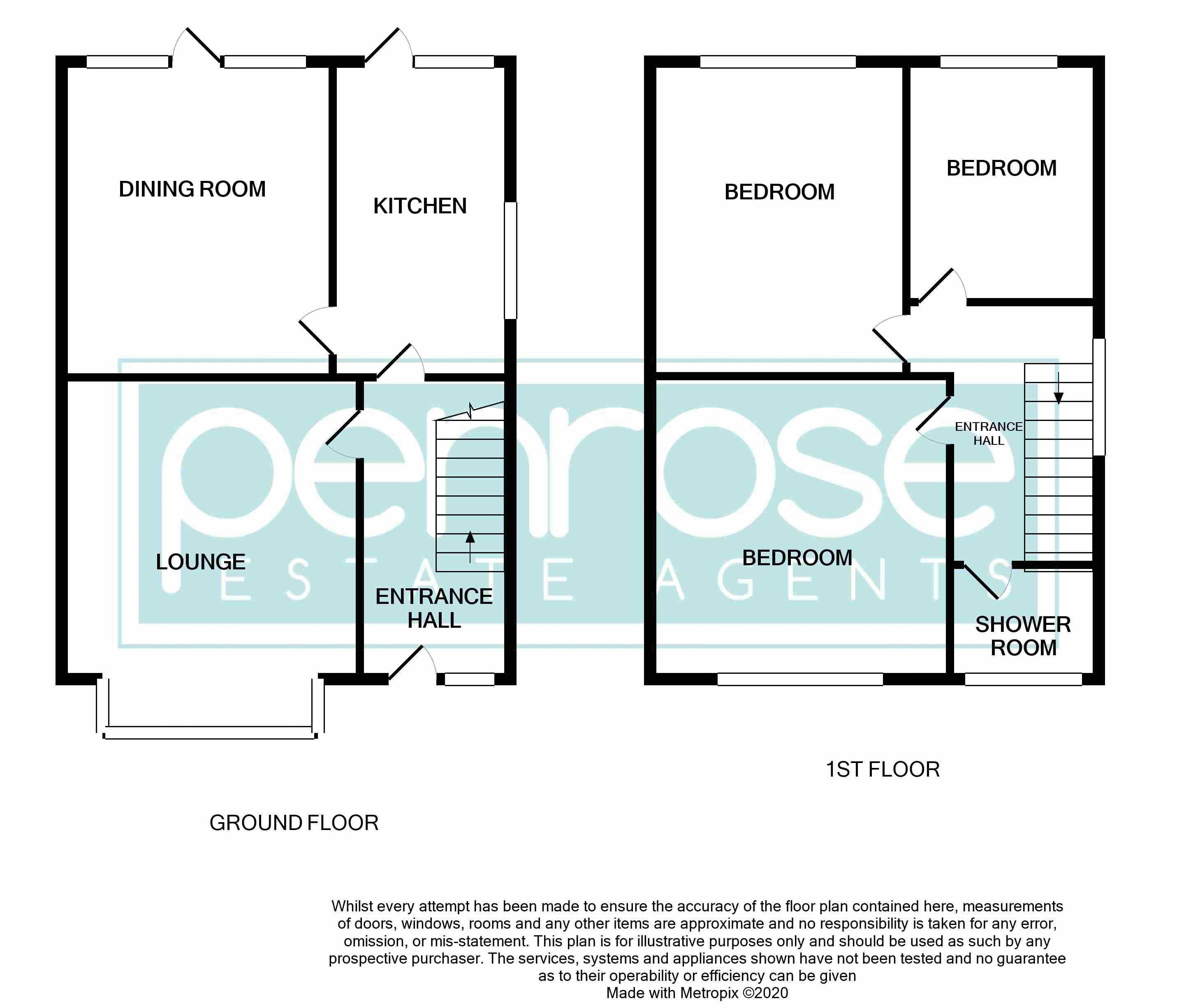 3 bedroom Semi-Detached  to buy in Biscot Road, Luton Floorplan
