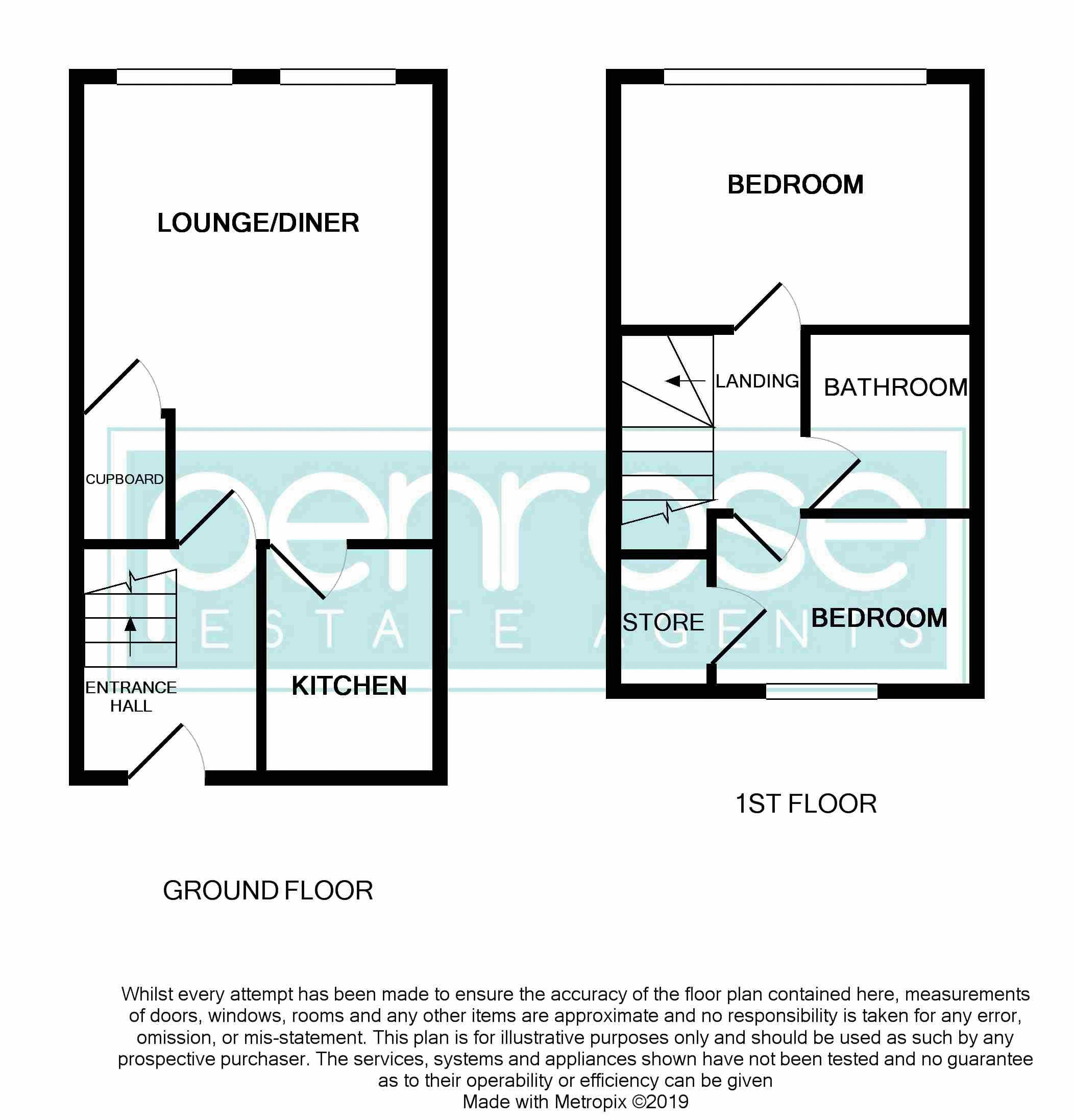 2 bedroom Flat to buy in Mill Street, Luton Floorplan