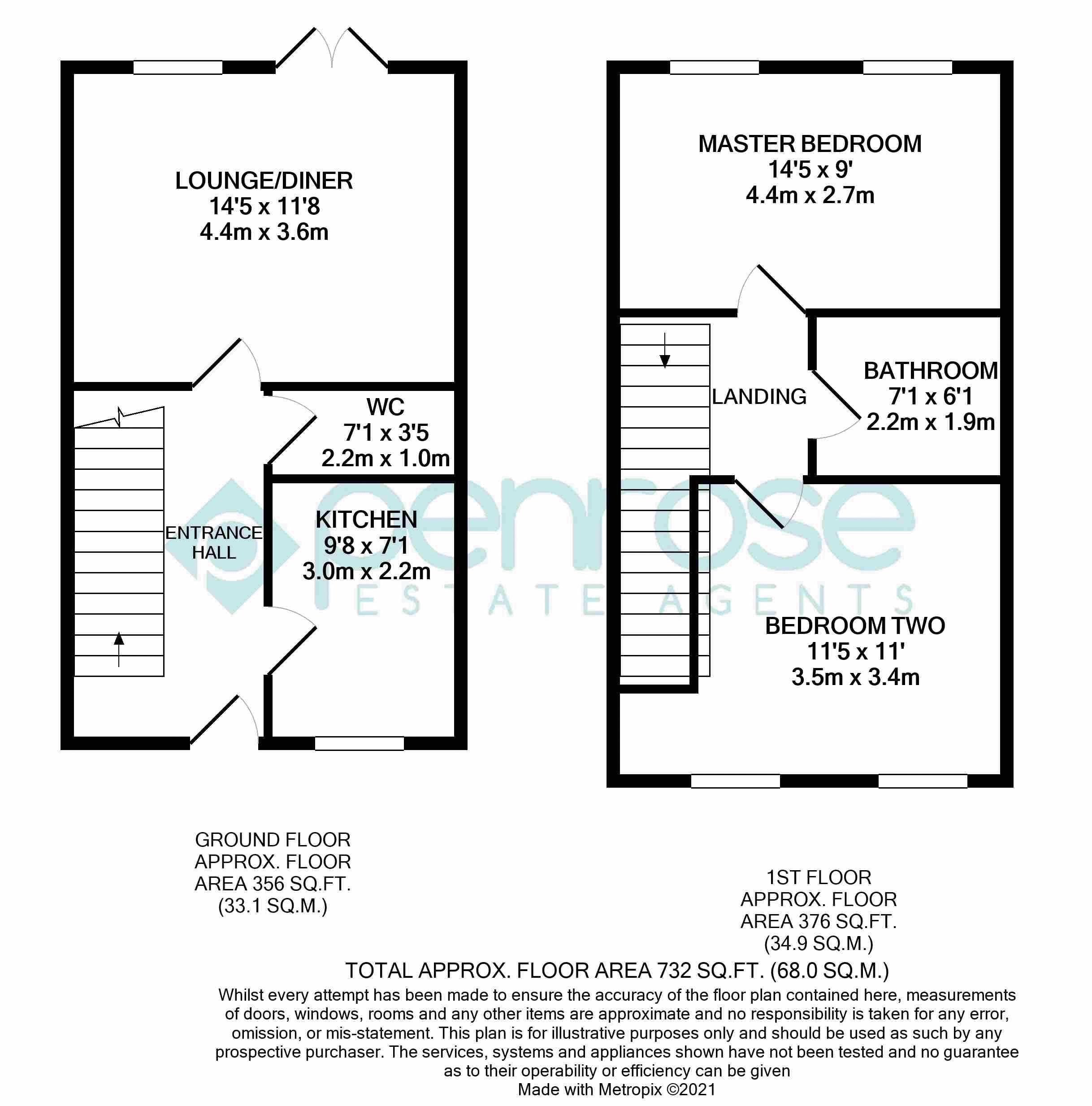 2 bedroom Mid Terrace to buy in Falks Hill, Luton