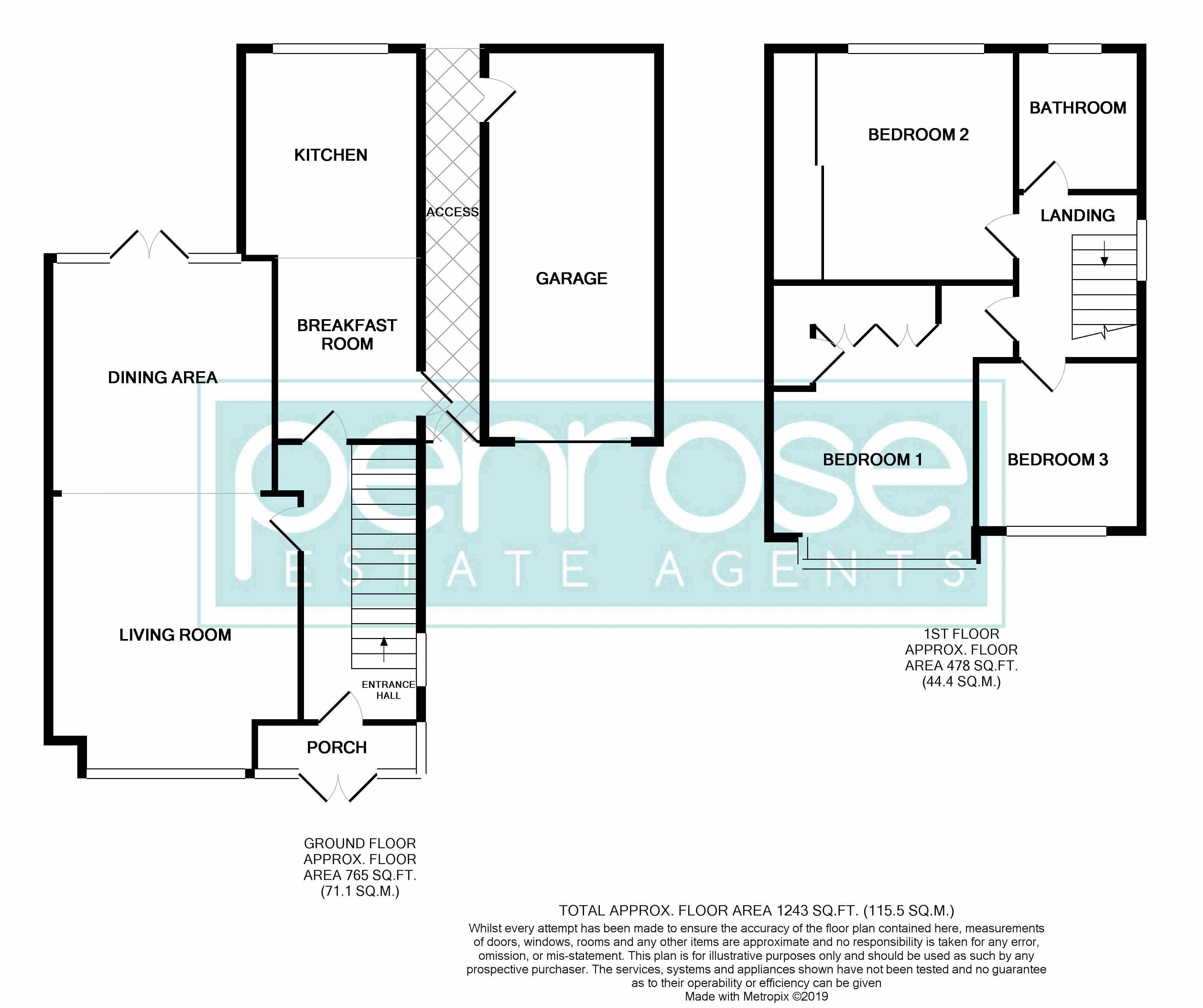 3 bedroom Semi-Detached  to rent in Manton Drive, Luton