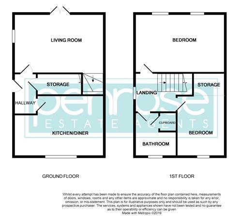 2 bedroom Mid Terrace to rent in Peregrine Road, Luton