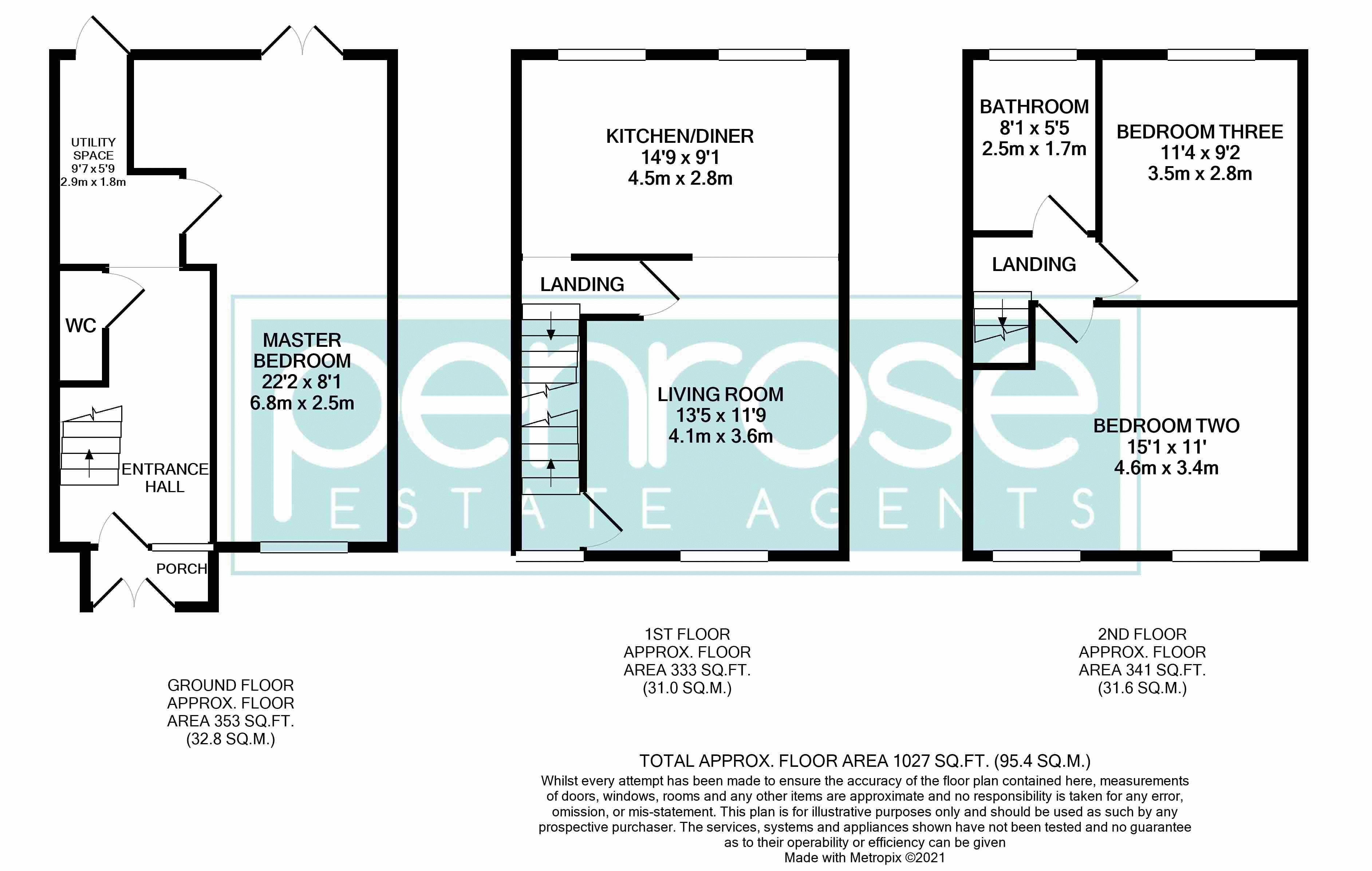 3 bedroom Mid Terrace to buy in Tenby Drive, Luton