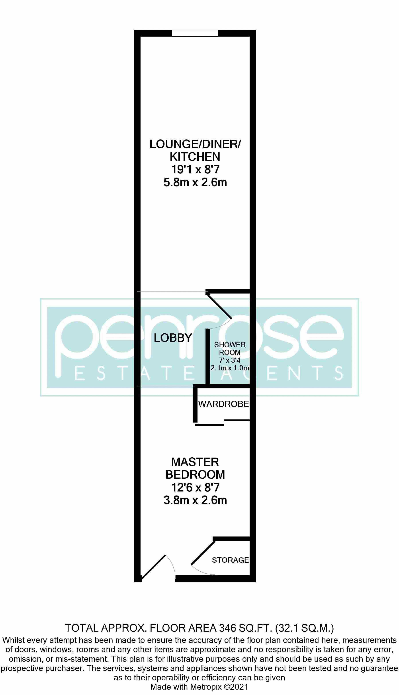 1 bedroom Apartment / Studio to buy in The Landmark, Flowers Way, Luton