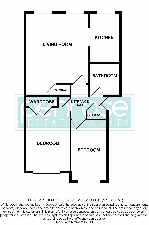2 bedroom Flat to rent in Elderberry Close, Luton