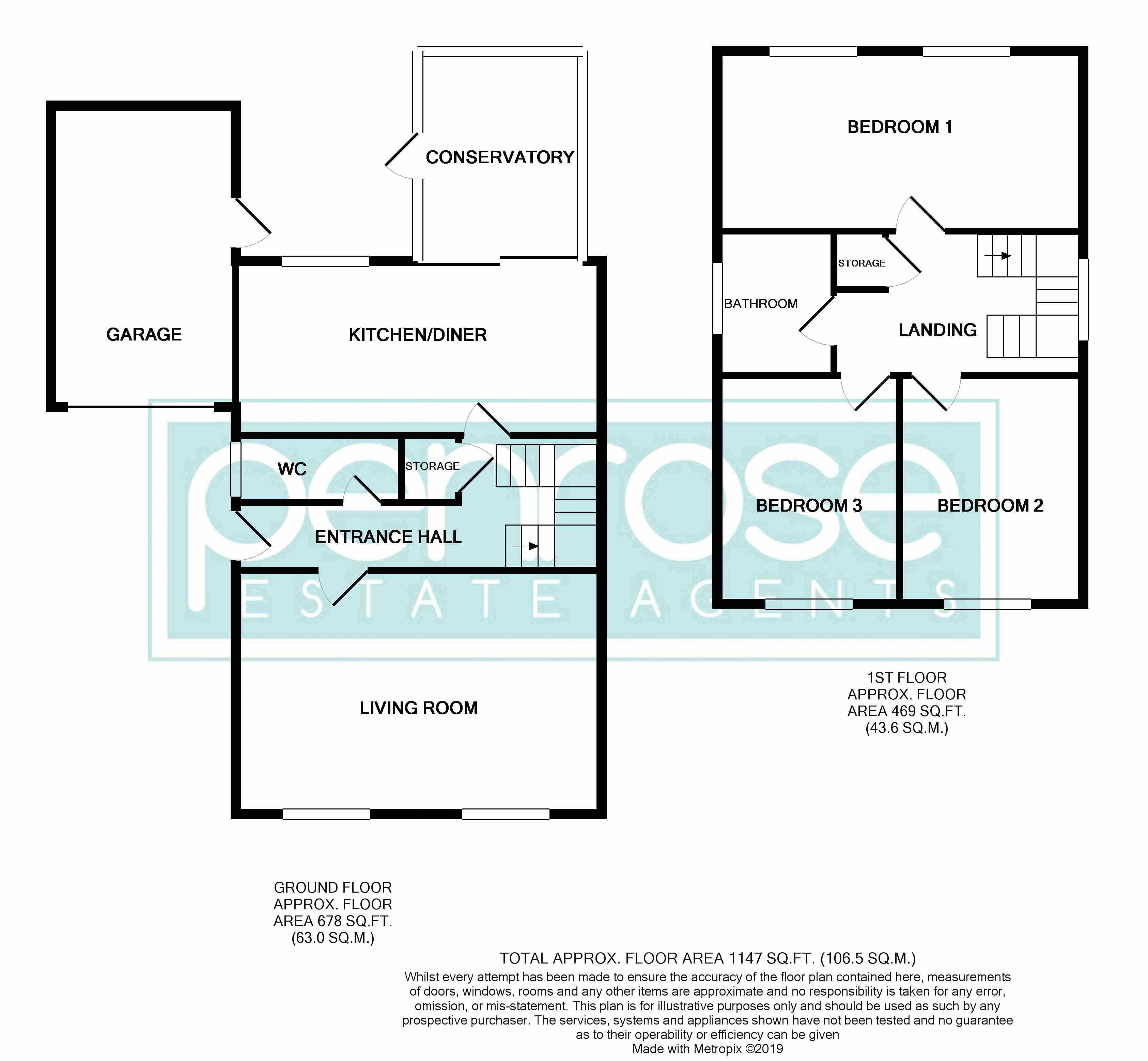 3 bedroom Detached  to buy in Benson Close, Luton