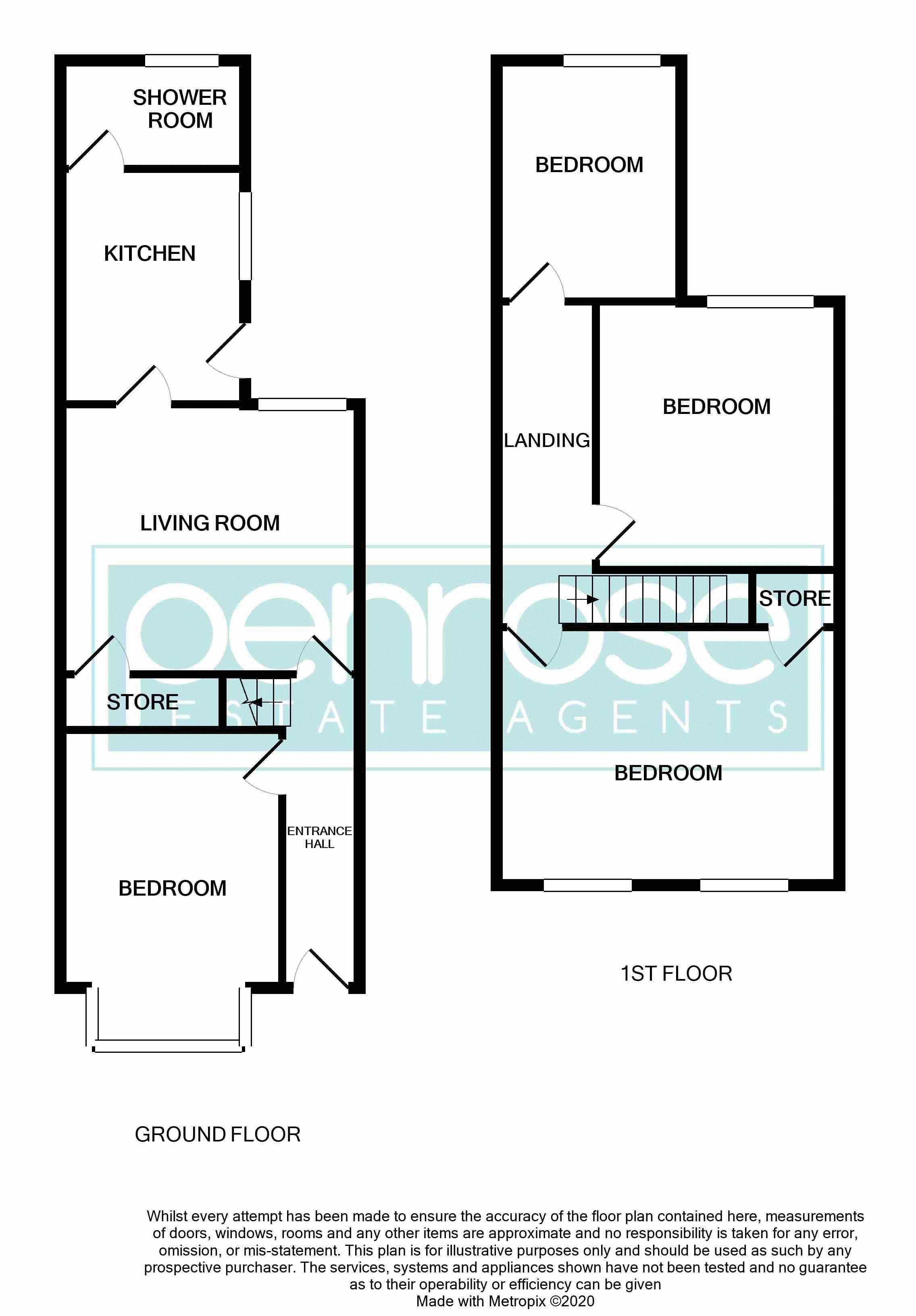 4 bedroom Mid Terrace to buy in Hitchin Road, Luton Floorplan