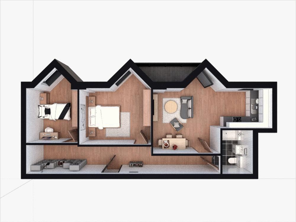 2 bedroom  to buy in Midland Apartments, 142 Midland Road, Luton