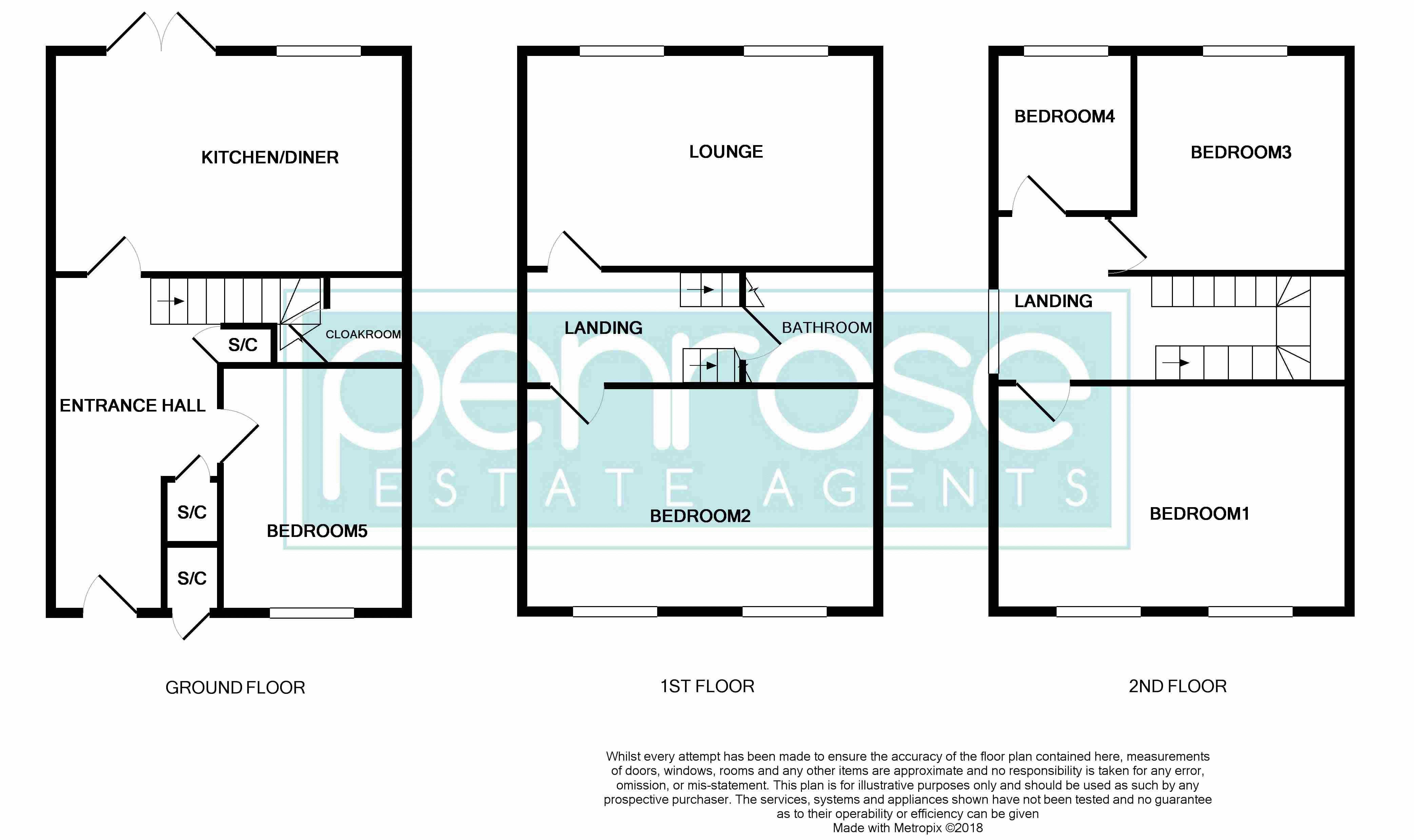 5 bedroom Mid Terrace to buy in Trowbridge Gardens, Luton