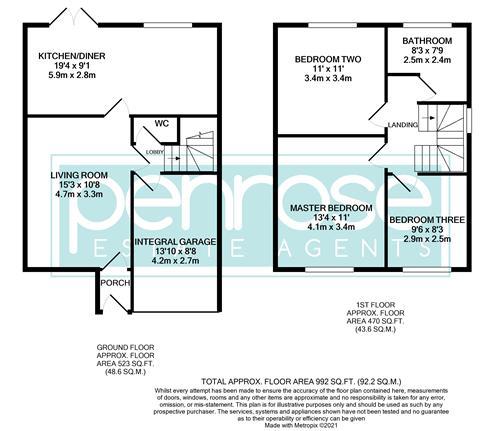 3 bedroom Semi-Detached  to rent in Corinium Gardens, Luton