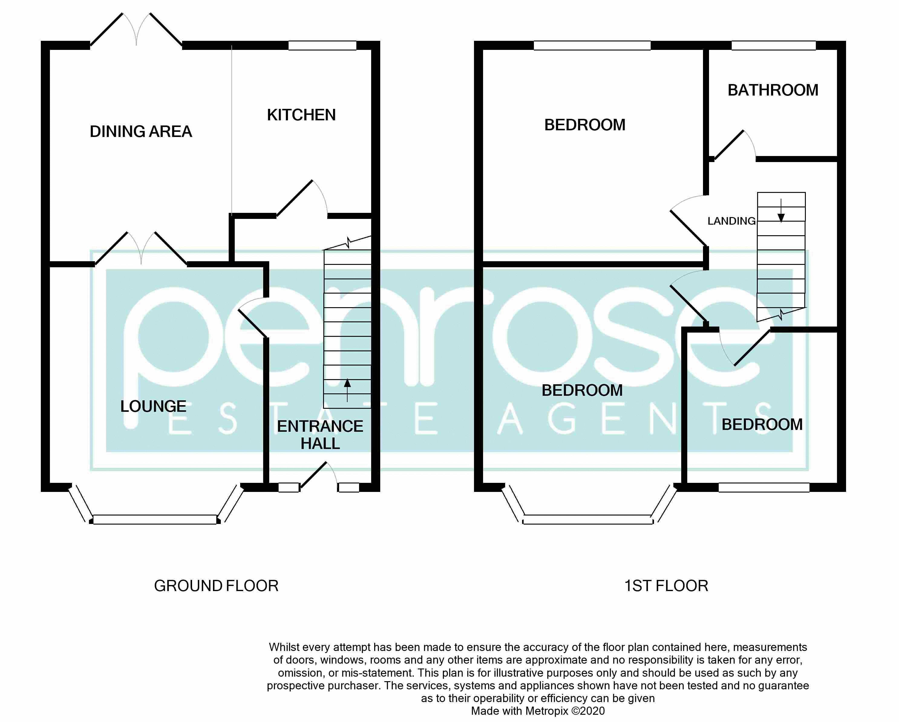 3 bedroom Mid Terrace to buy in Cowper Street, Luton Floorplan