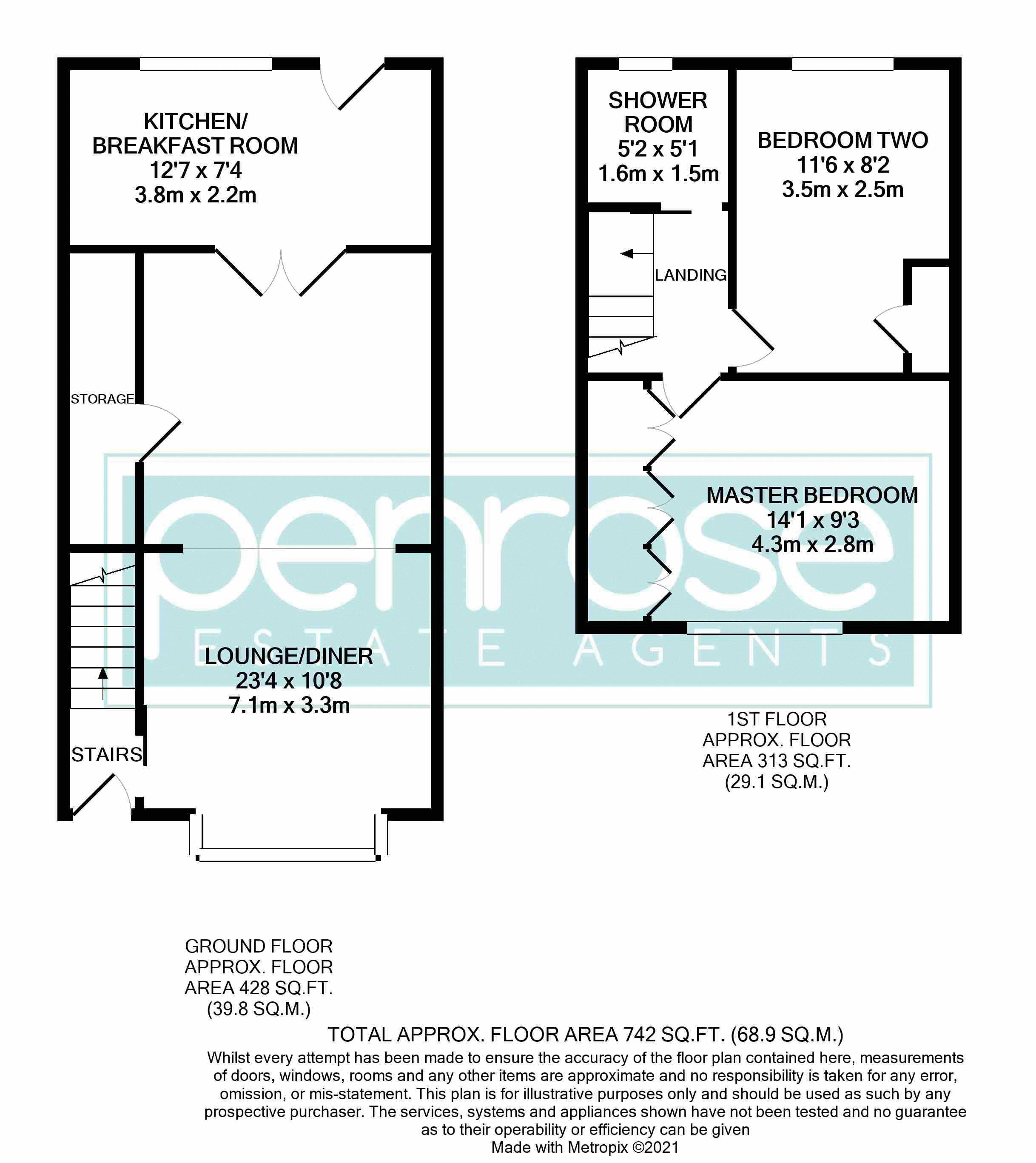 2 bedroom Mid Terrace to buy in Stapleford Road, Luton