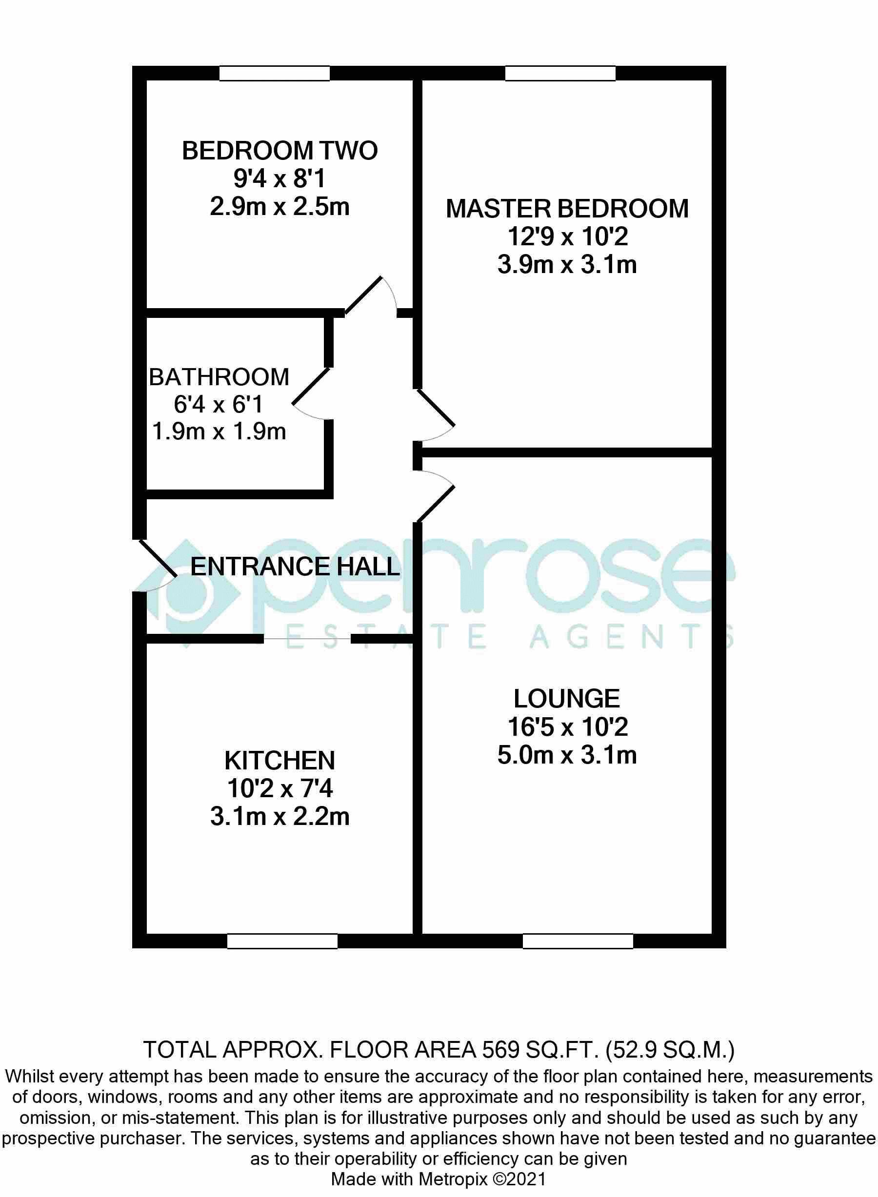 2 bedroom Flat to buy in Crescent Road, Luton