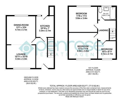 3 bedroom Mid Terrace to buy in Tower Road, Luton